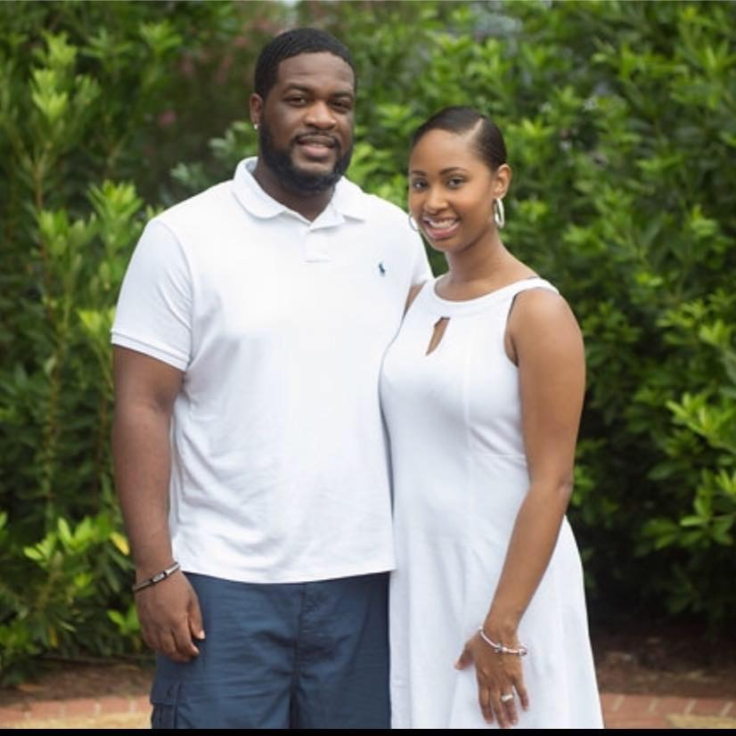 Joseph (husband) and Jessica (owner)  Photo taken by: Yolanda Rouse Photography