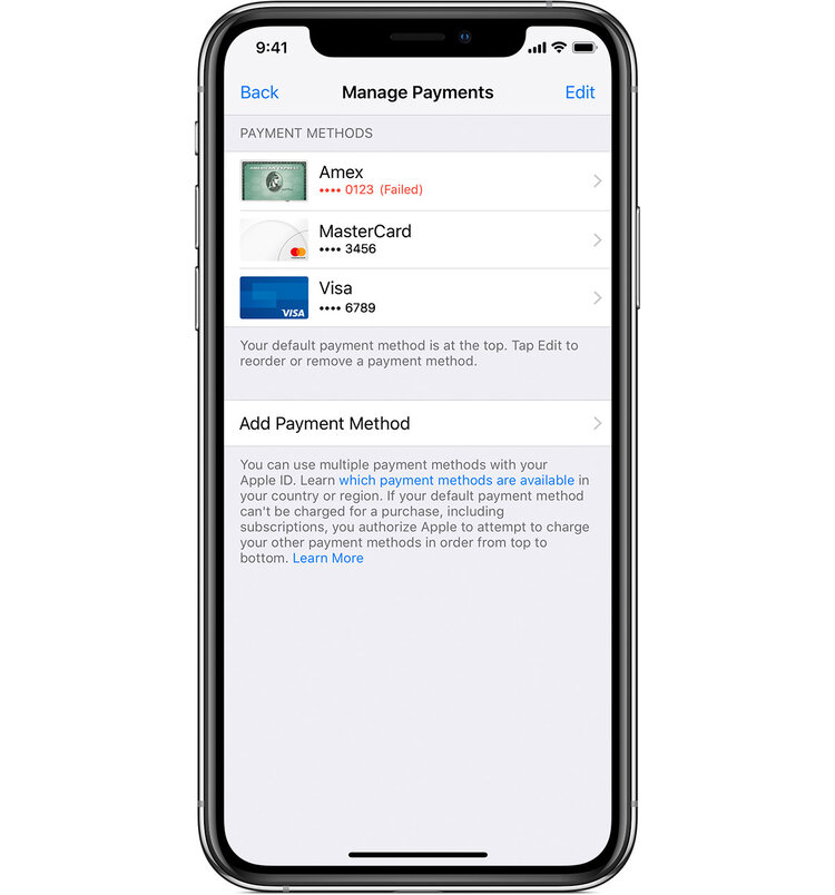 ios12-2-iphone-xs-settings-apple-id-itunes-app-store-view-apple-id-manage-payments-error-failed.jpg