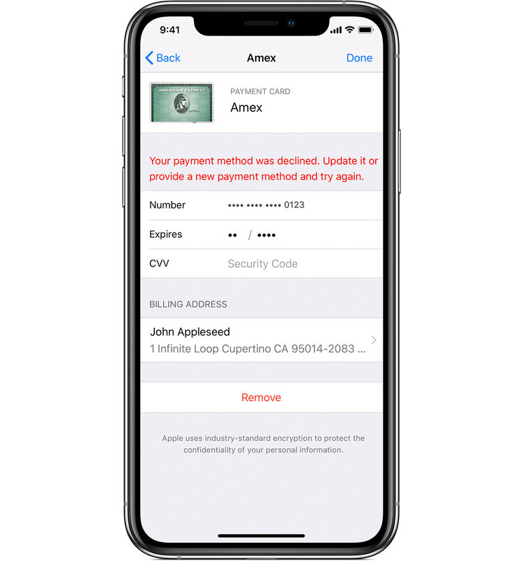 ios12-2-iphone-xs-settings-apple-id-itunes-app-store-view-apple-id-manage-payments-card-details-failed.jpg