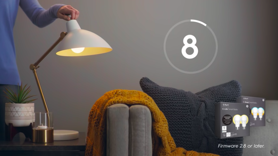 Screen grab from  How to: Reset C by GE Light Bulbs