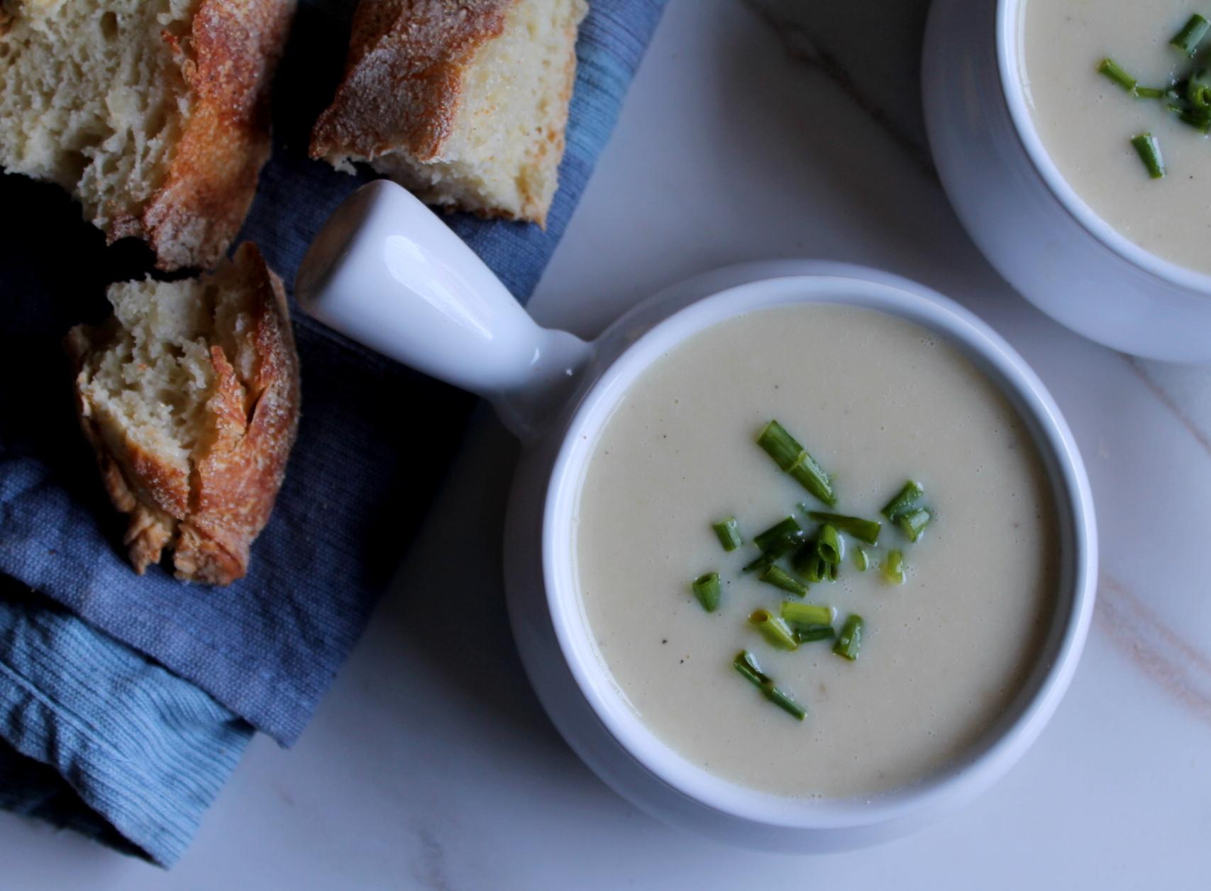coldpotato and leek soup5