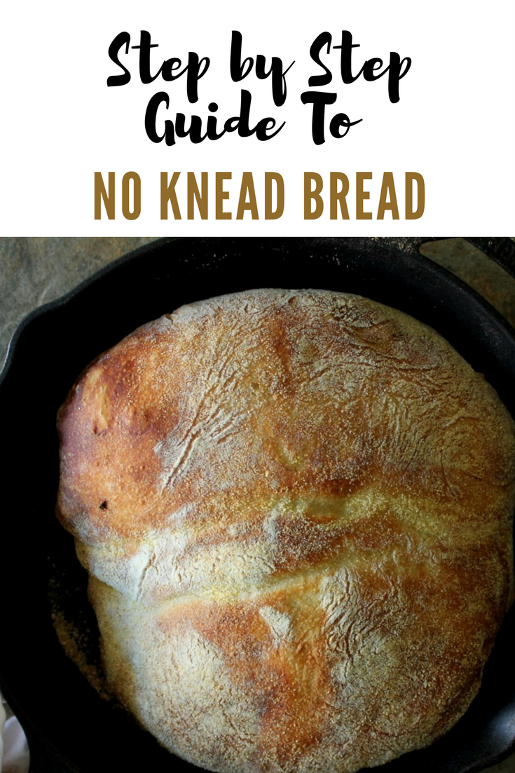 Step by Step Guide to Mark Bittman's No Knead Bread.