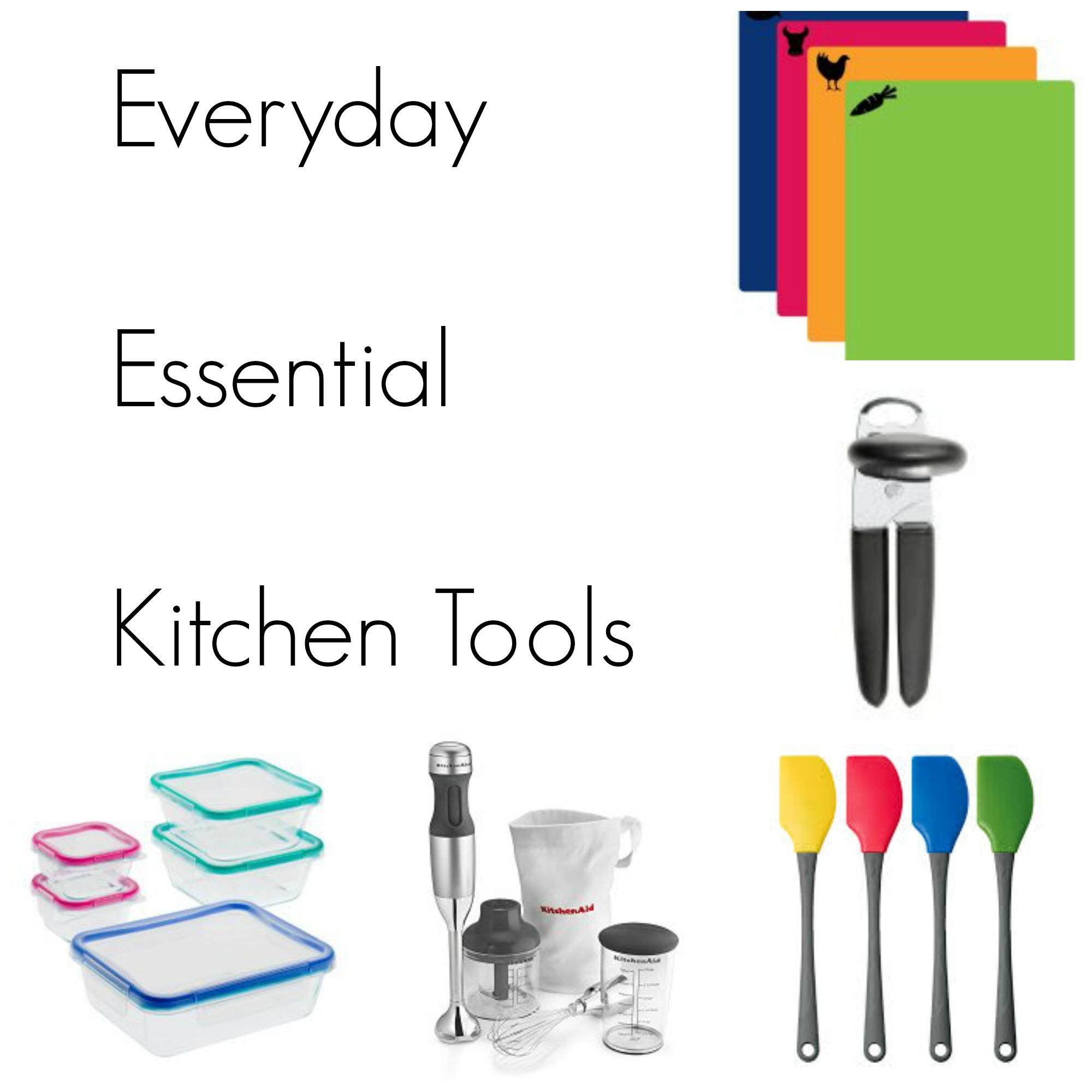 everyday essential kitchen tools