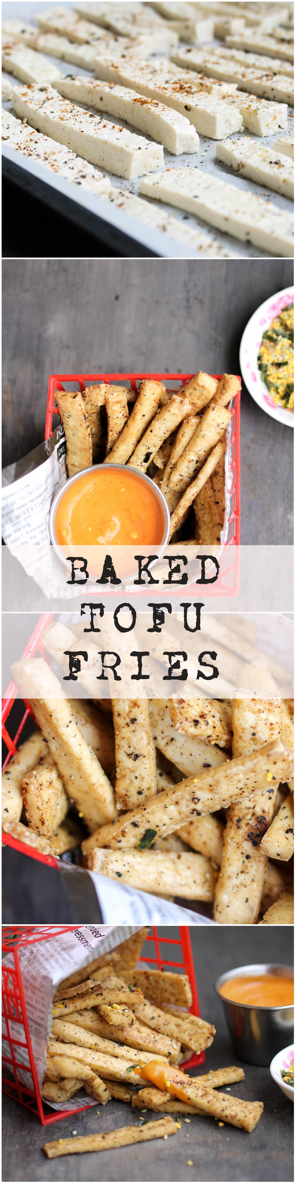 Baked Tofu Fries are naturally gluten-free, vegan, and packed with protein and many other nutrients. It's a quick, rather addictive side that you and your family can enjoy!