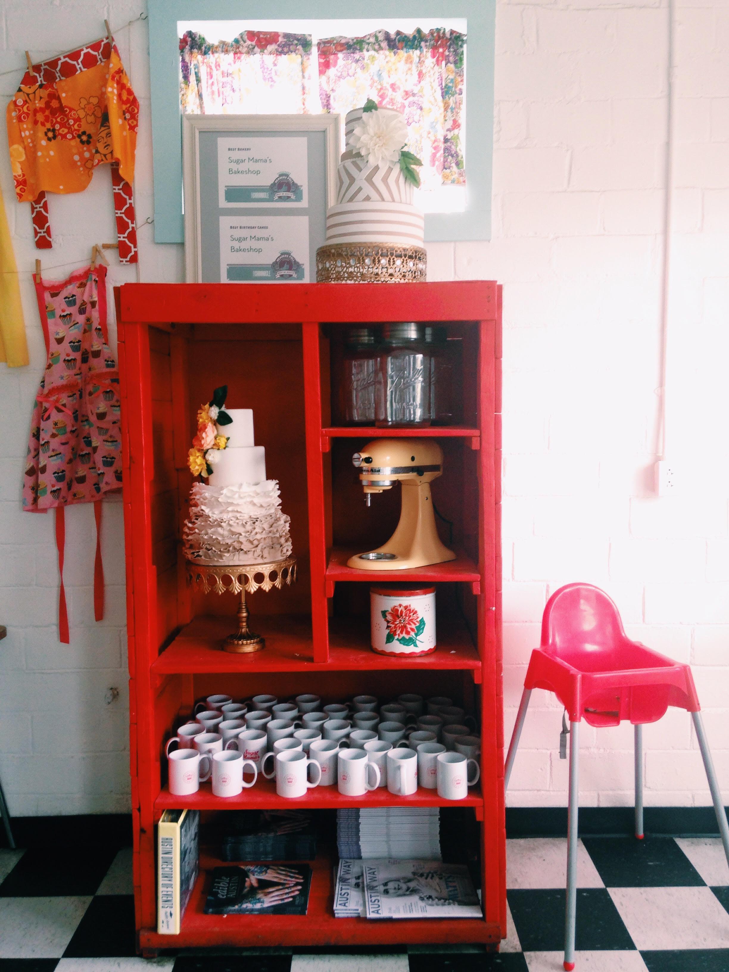 Sugar Mama's Bakeshop in Austin.