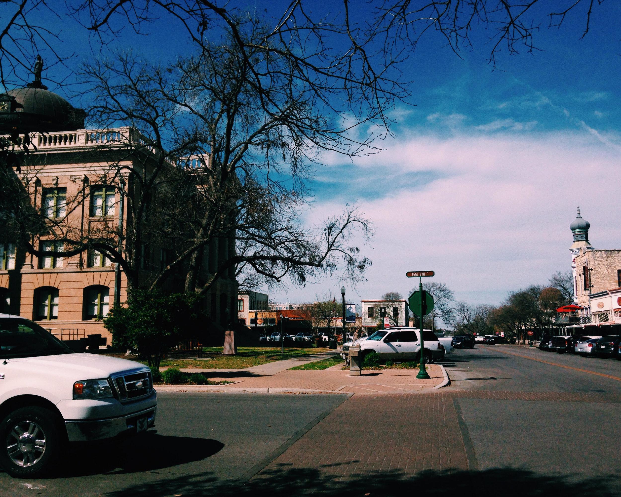 Georgetown, en route to Austin