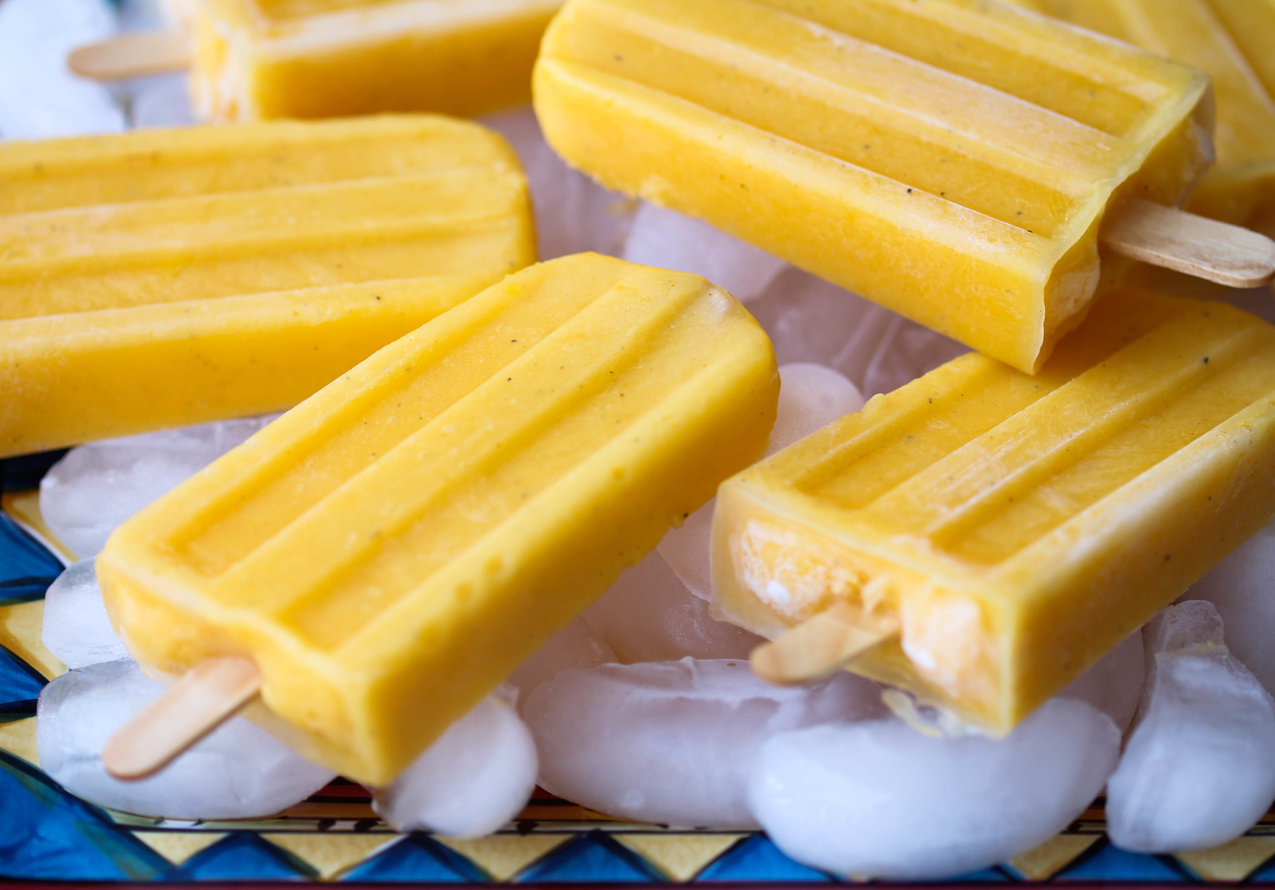 3 Ingredients Mango Lassi Popsicles are creamy and naturally sweetened with no added sugar. They are refreshing and healthy treat post-workout, after-school, and even as a dessert.