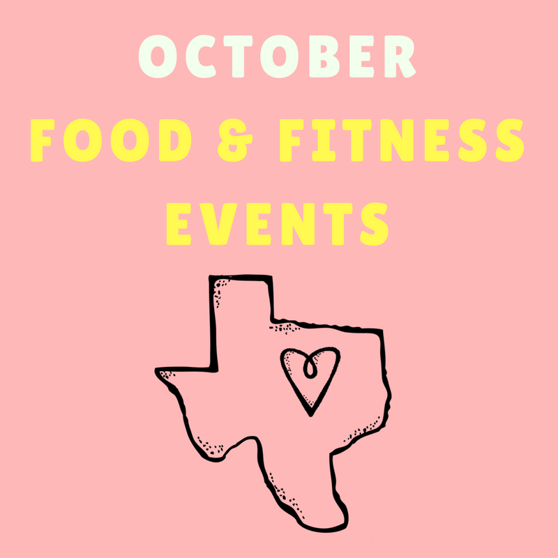 October Fort Worth Food & Fitness Events