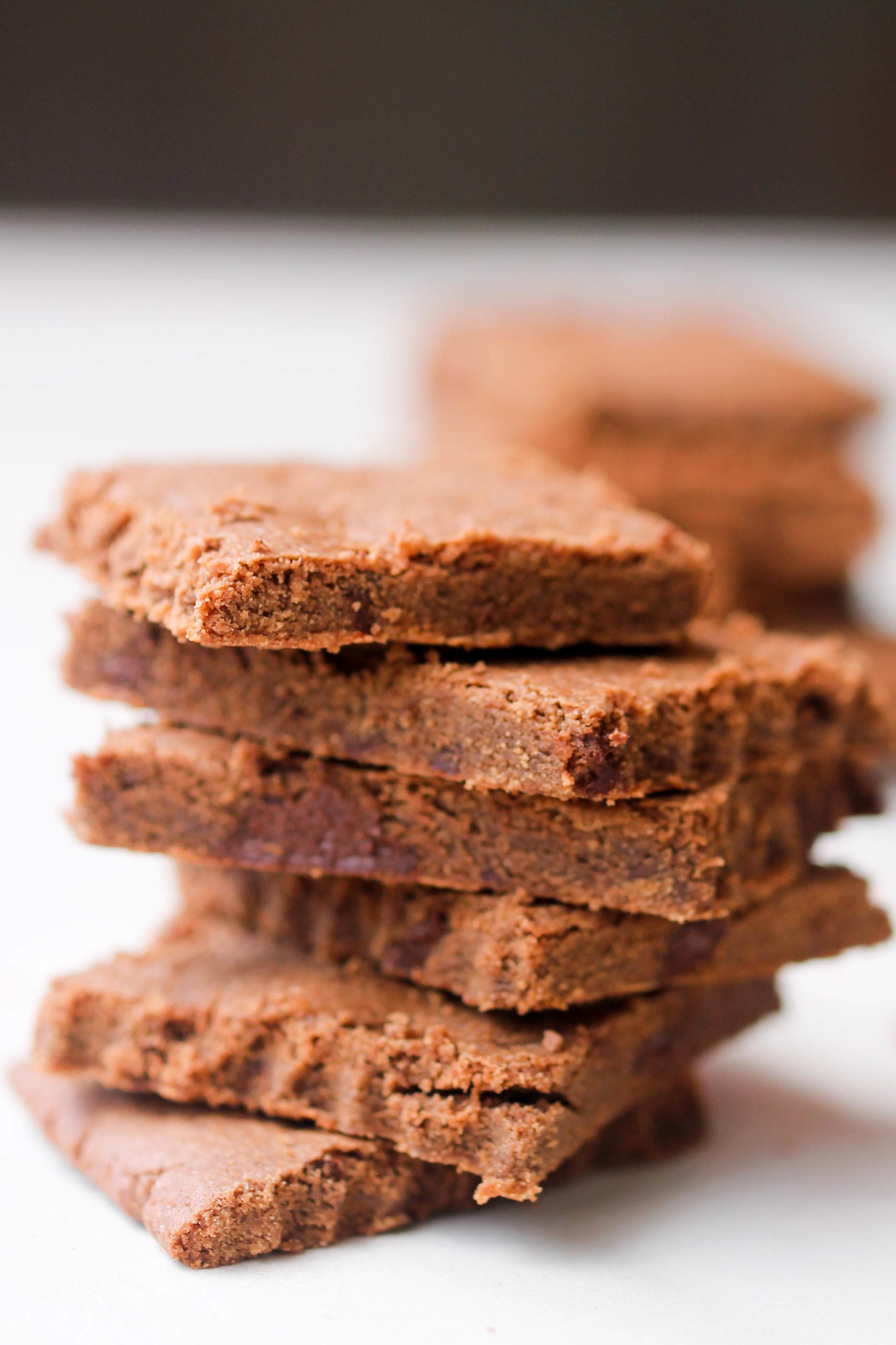 Double Buckwheat Double Chocolate Cookies