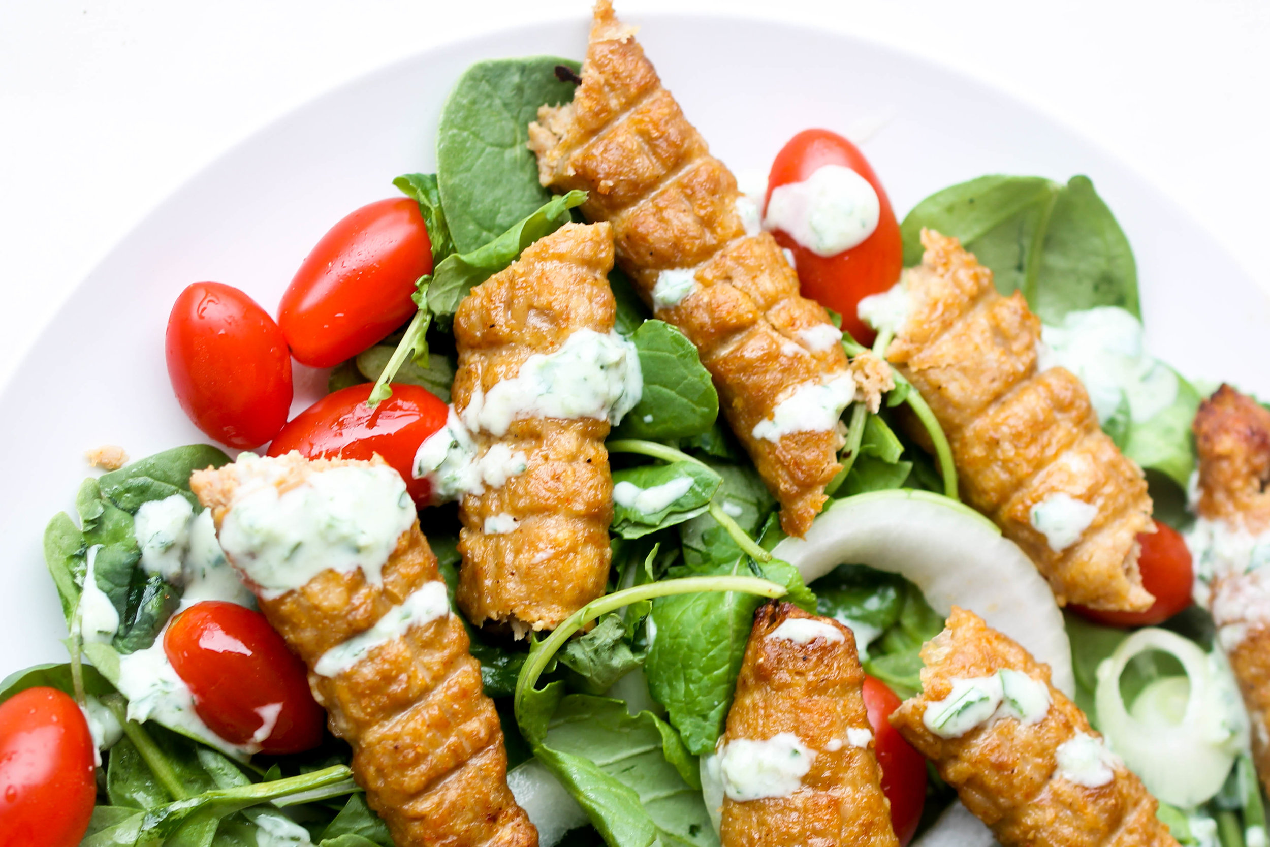 Easy Chicken Seekh Kebab is a family-friendly recipe that can be made ahead of time and enjoyed with rice, as a salad or a wrap.