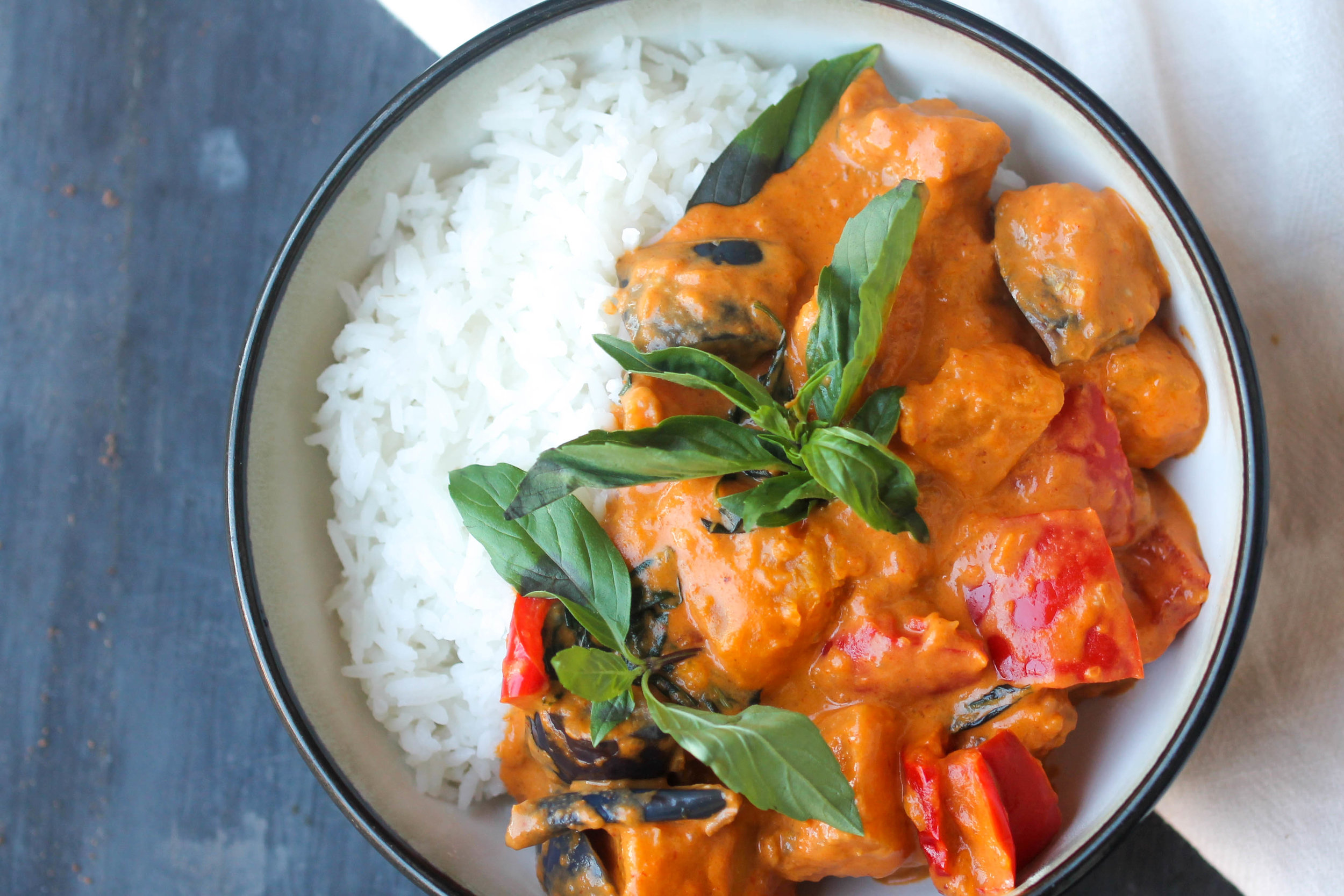 Easy Red Thai Curry