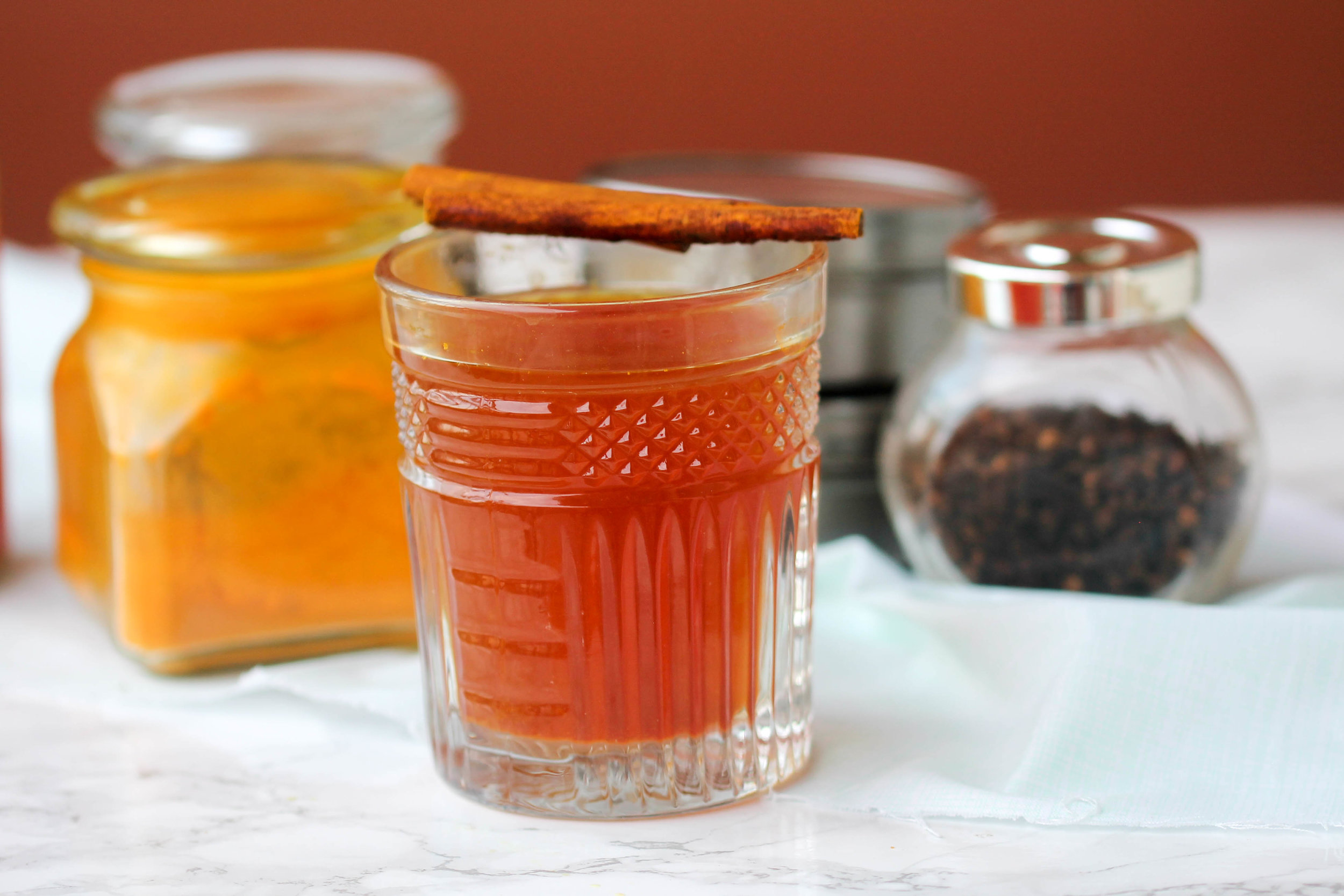 Homemade Cold Tonic with Aromatic Spices!