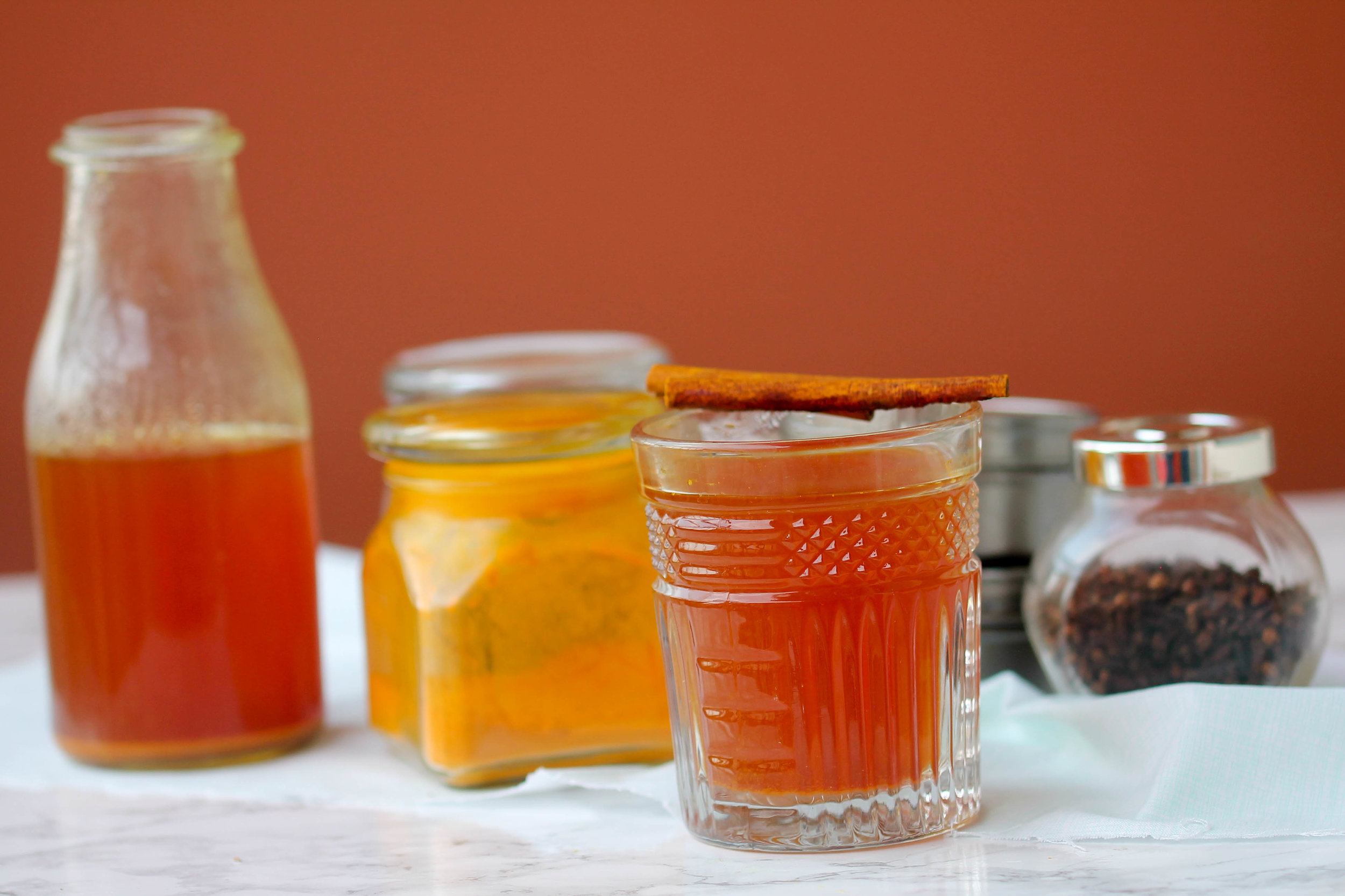 Homemade Cold and Cough Tonic