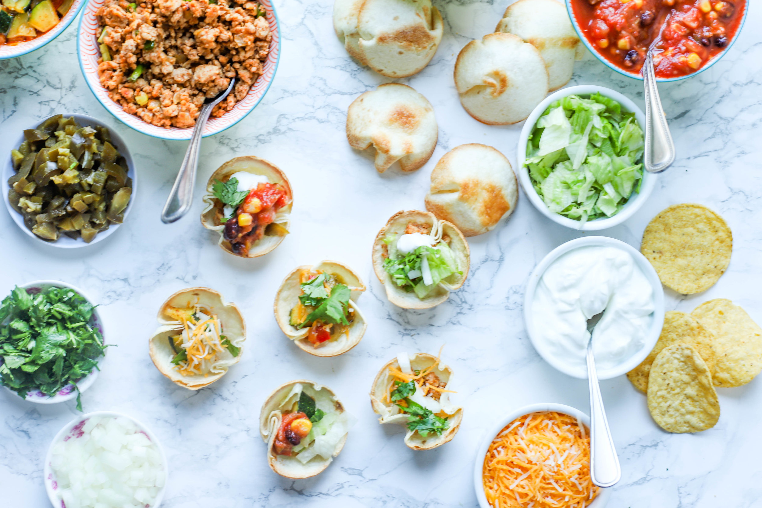 Easy Taco Cups