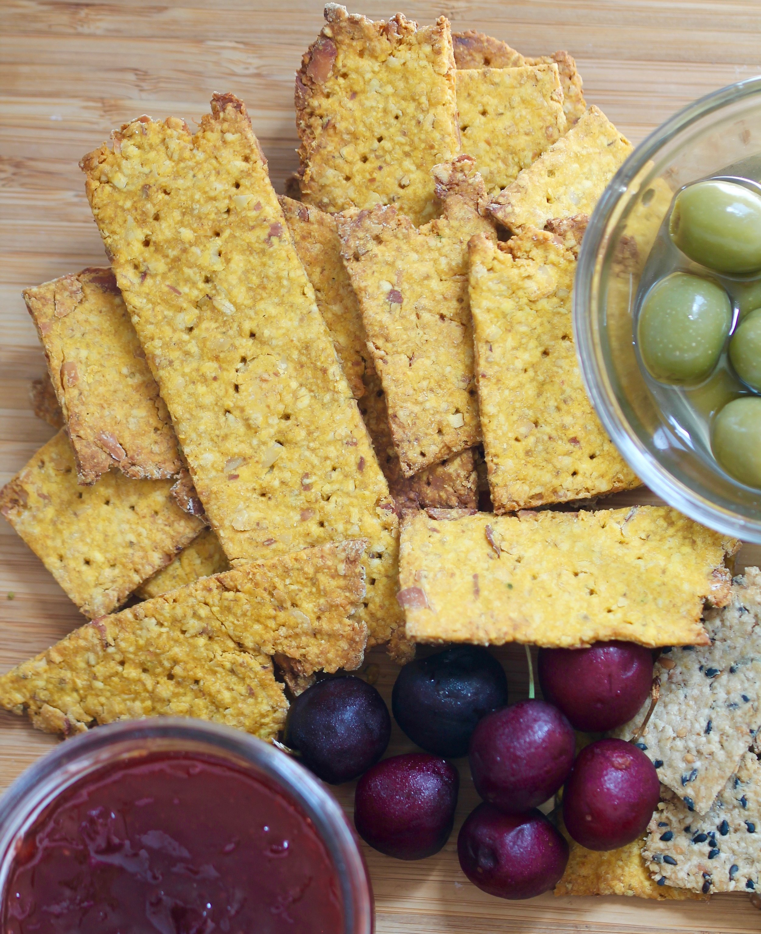 Easy Homemade Crackers Vegan Oats