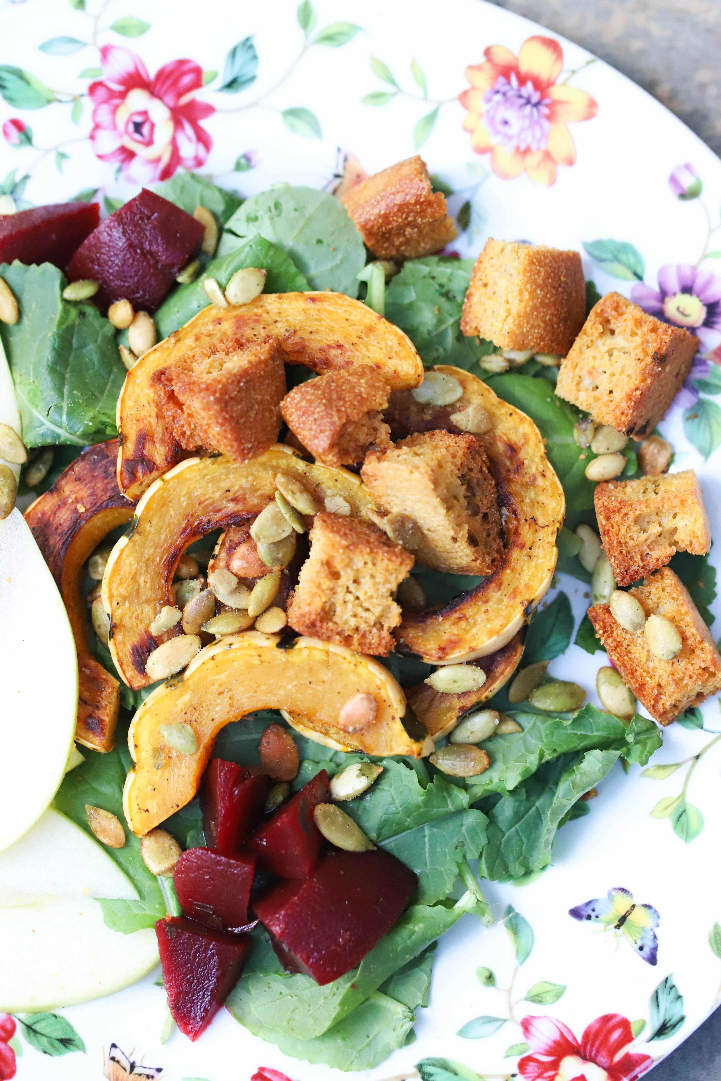 The Ultimate Fall Salad Vegan