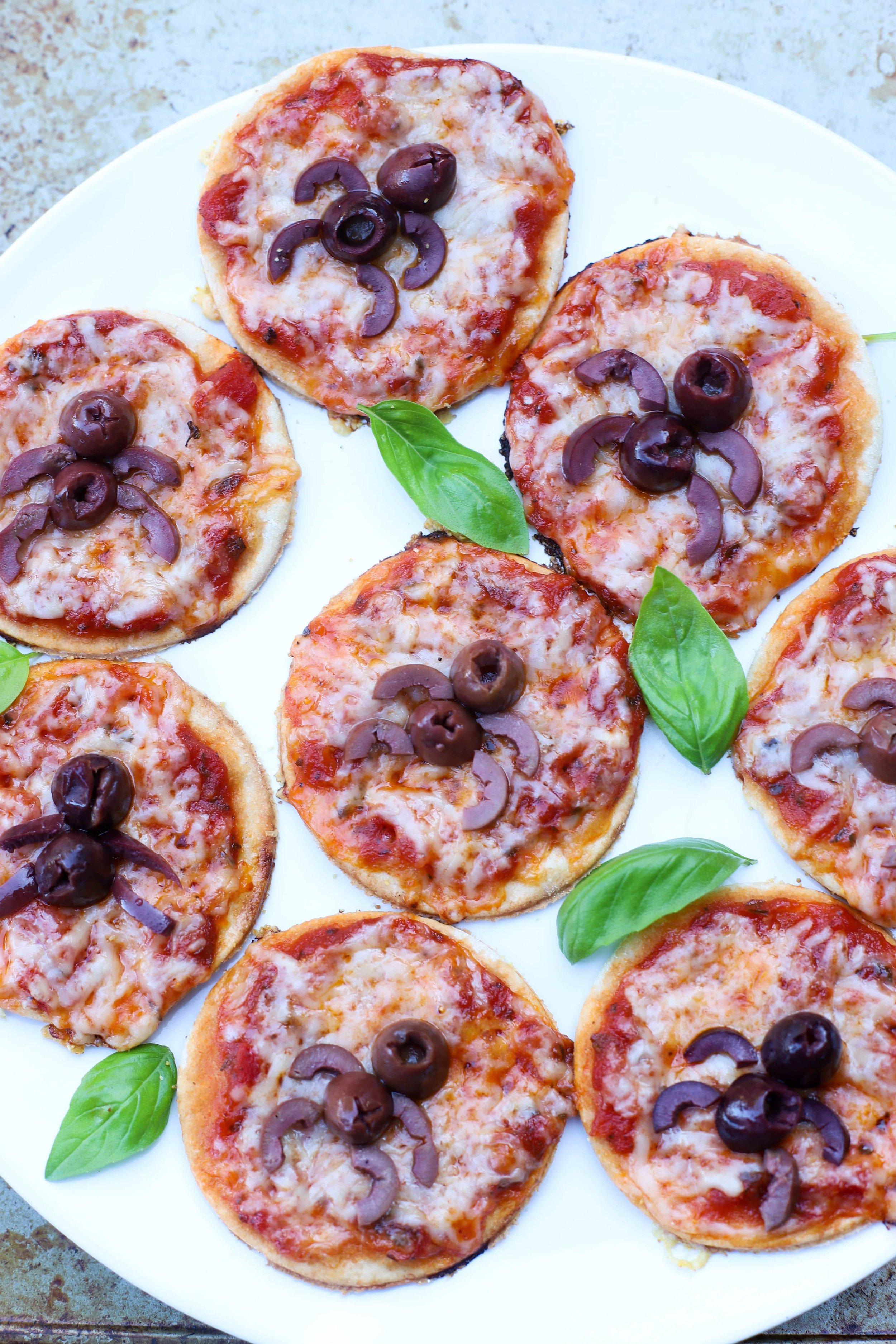 Halloween Pizza Bites