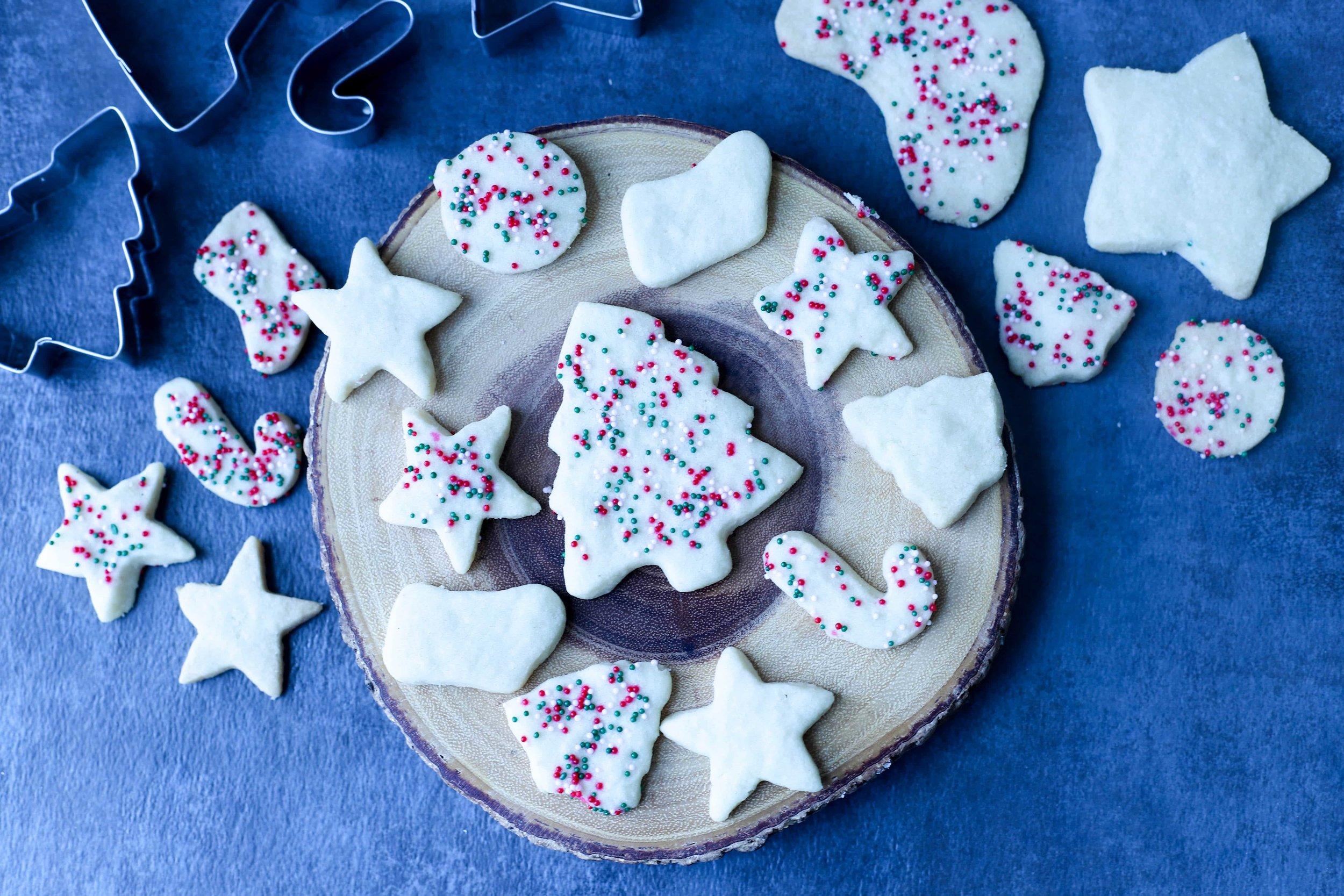Ghee Cookies, Holiday Shortbread Cookies