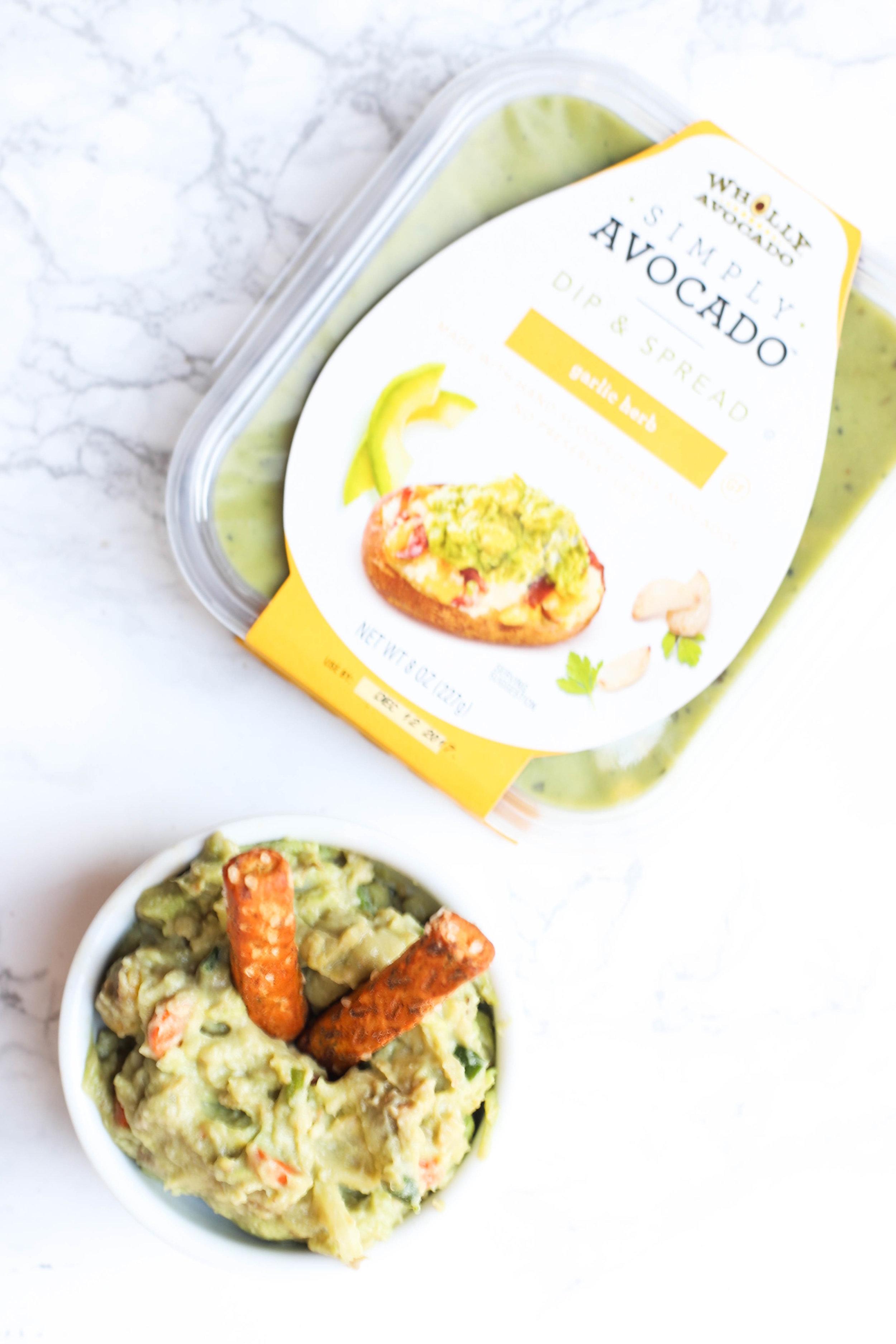 Avocado Spread Healthy Snack