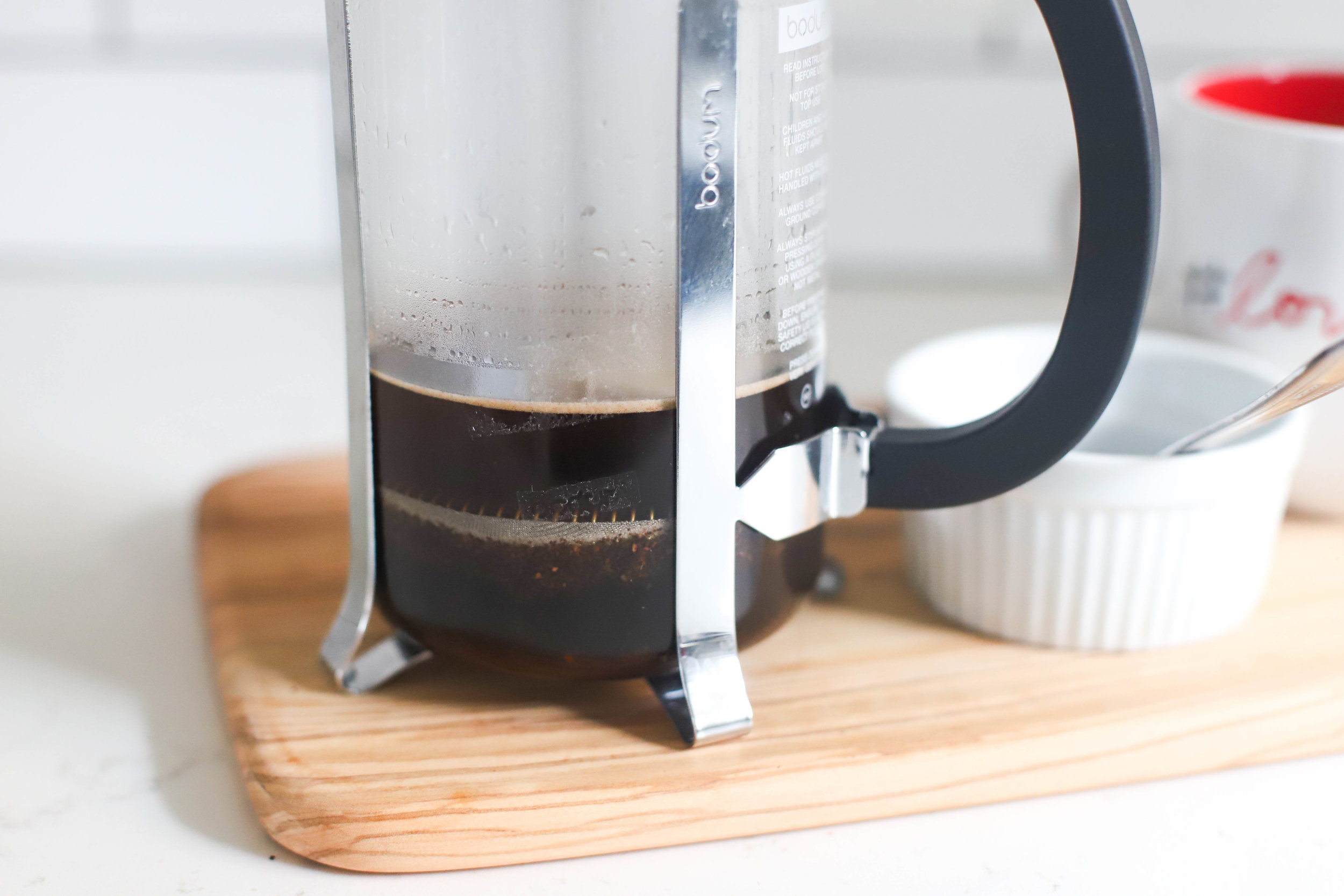 french press coffee for one
