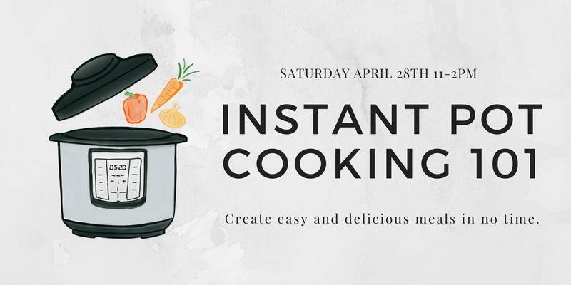instant pot cooking class