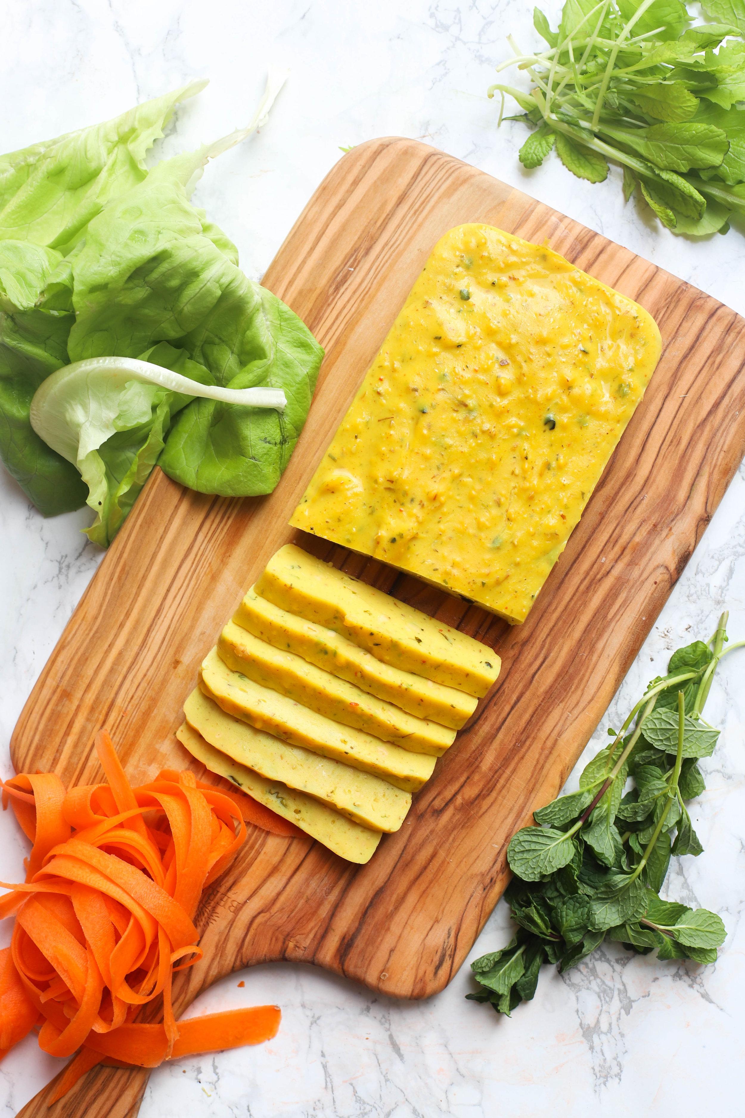 burmese tofu, shan tofu salad