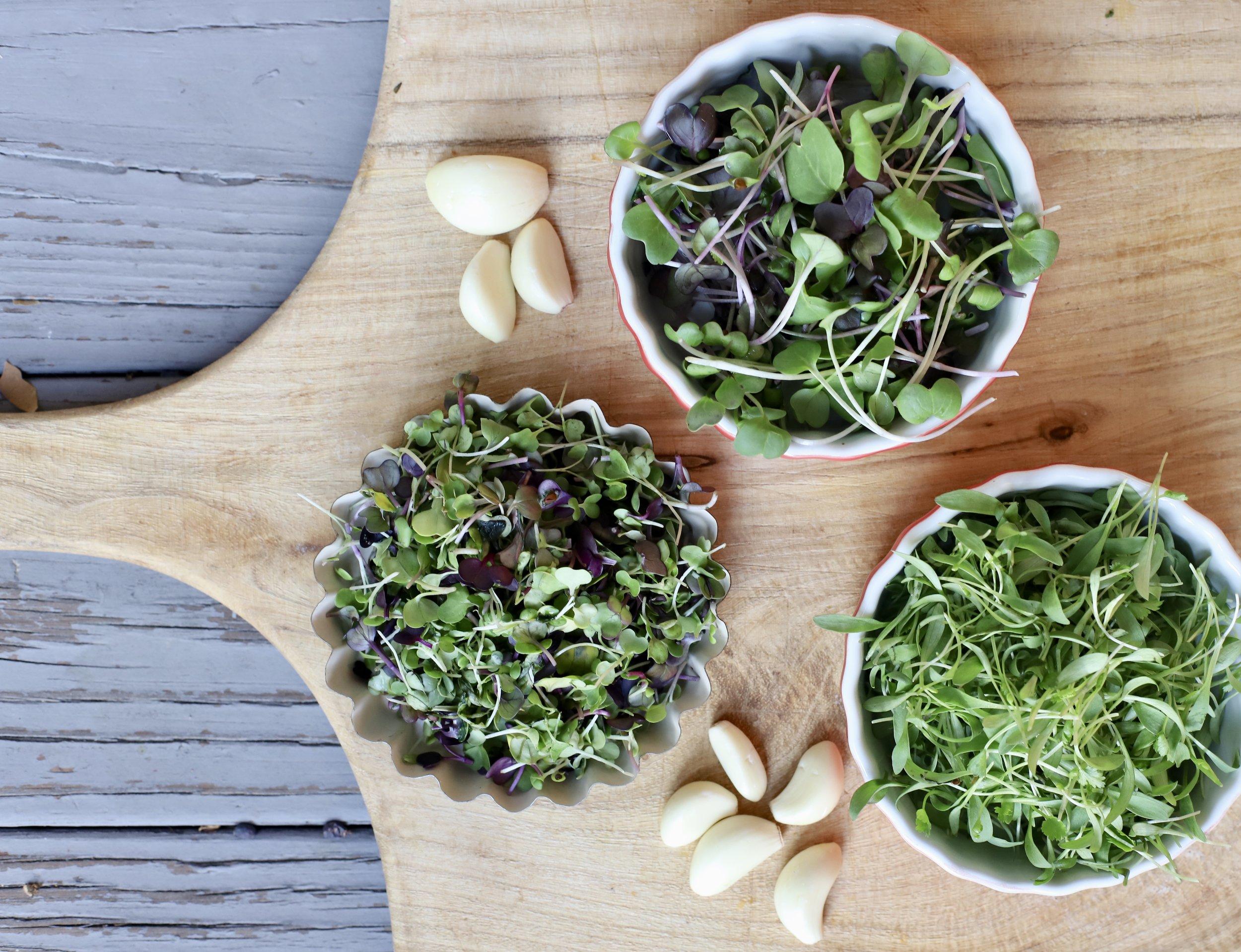 Microgreens Cashew Spread