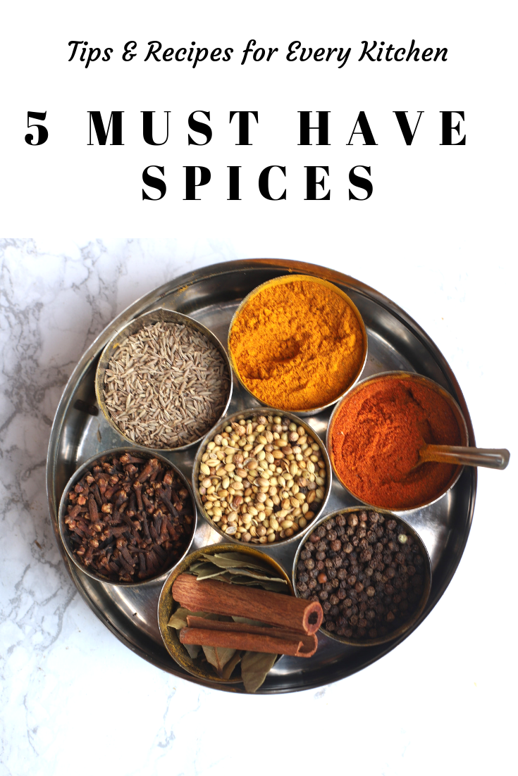 5 must have spices