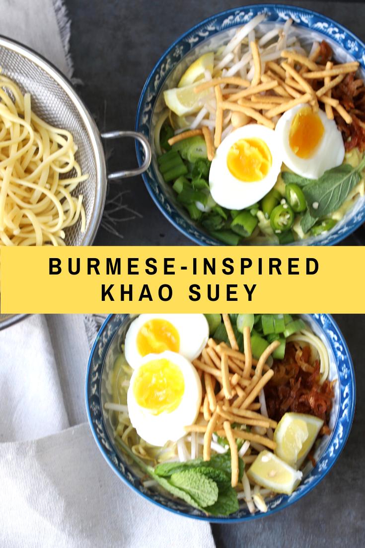 Burmese-Inspired Khao Suey