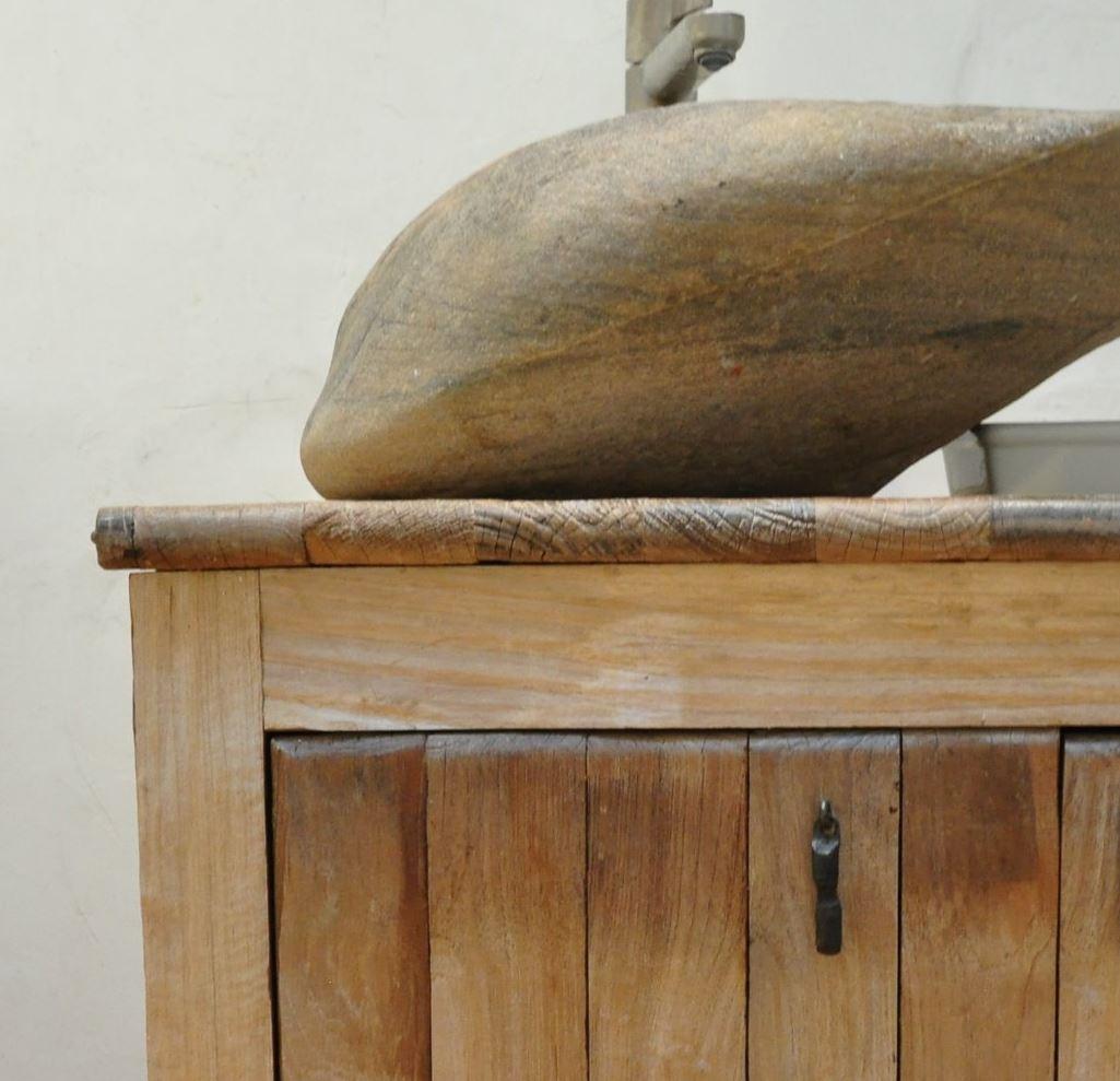 teak vanity and stone sink by Thor.JPG