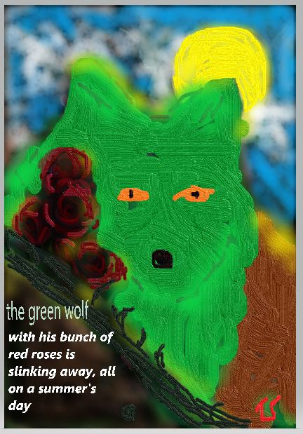 The Green wolf by Thor totally reworked from another artist.JPG