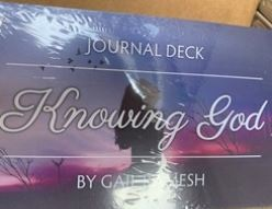 Knowing God Journal Deck