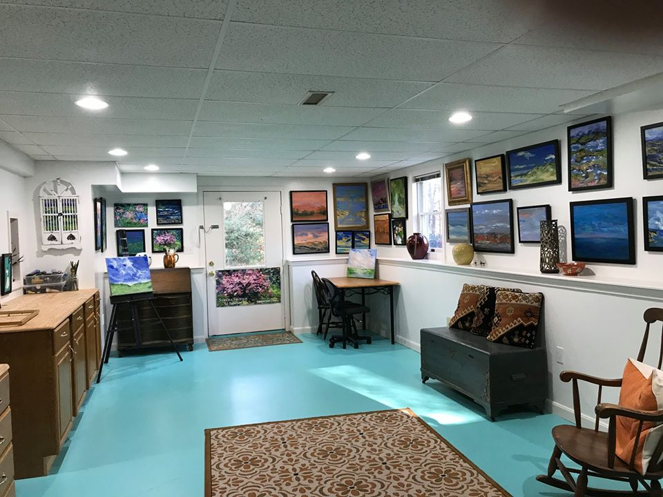 Studio Space Ready for Visitors