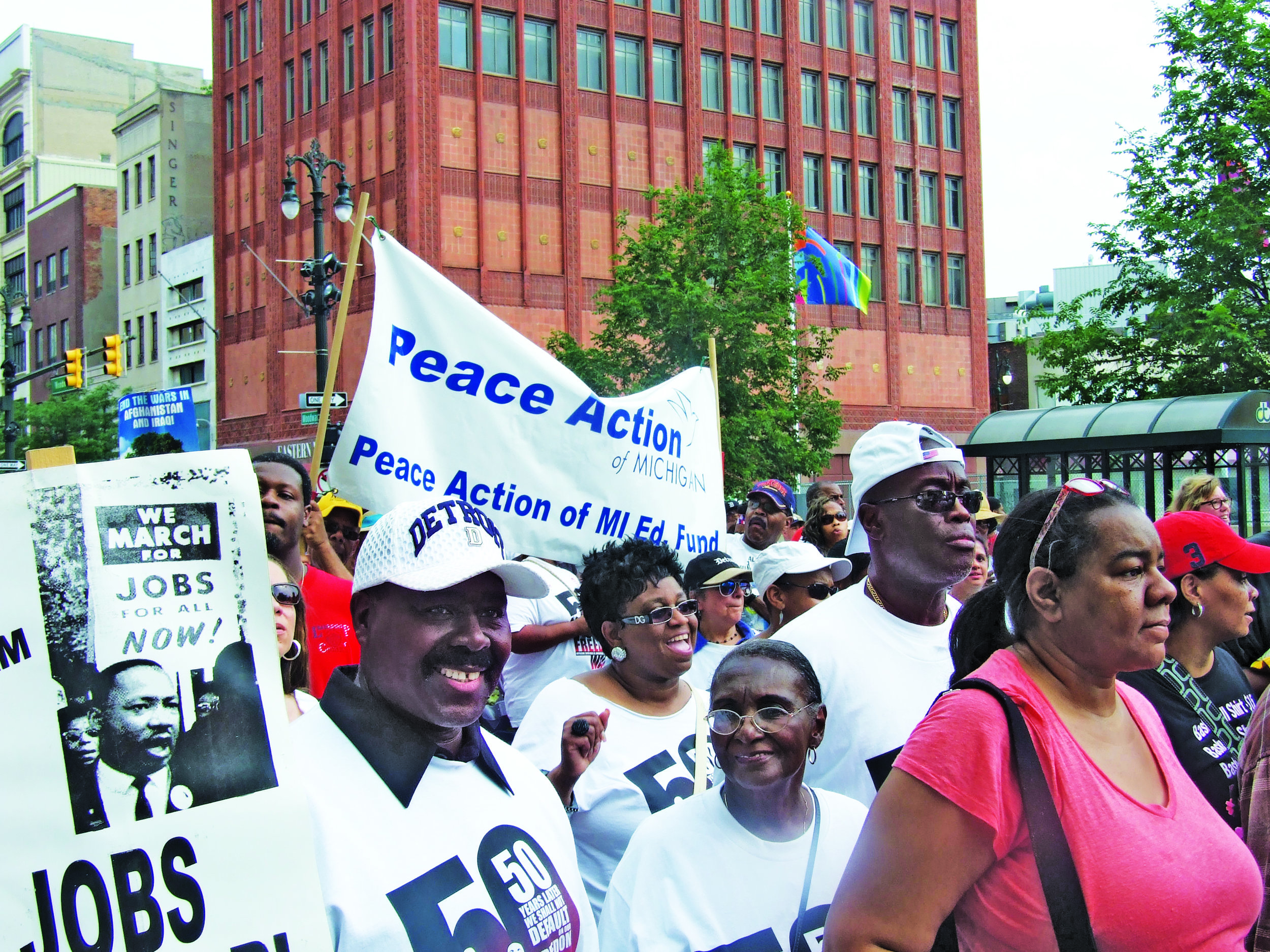 Peace Demands Action