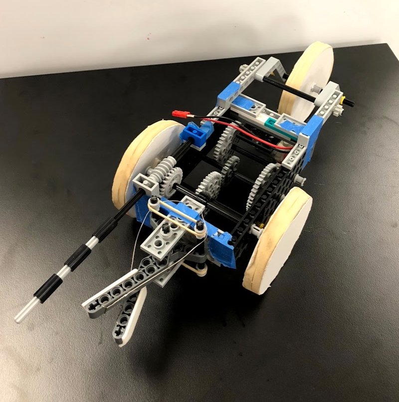 The Salamander Mobile- a mechanical systems design project