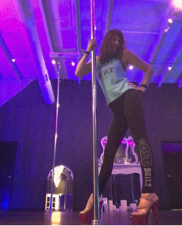 Learn how to express your inner sass and get a kick-butt workout at BrandiLand Pole & Aerial!