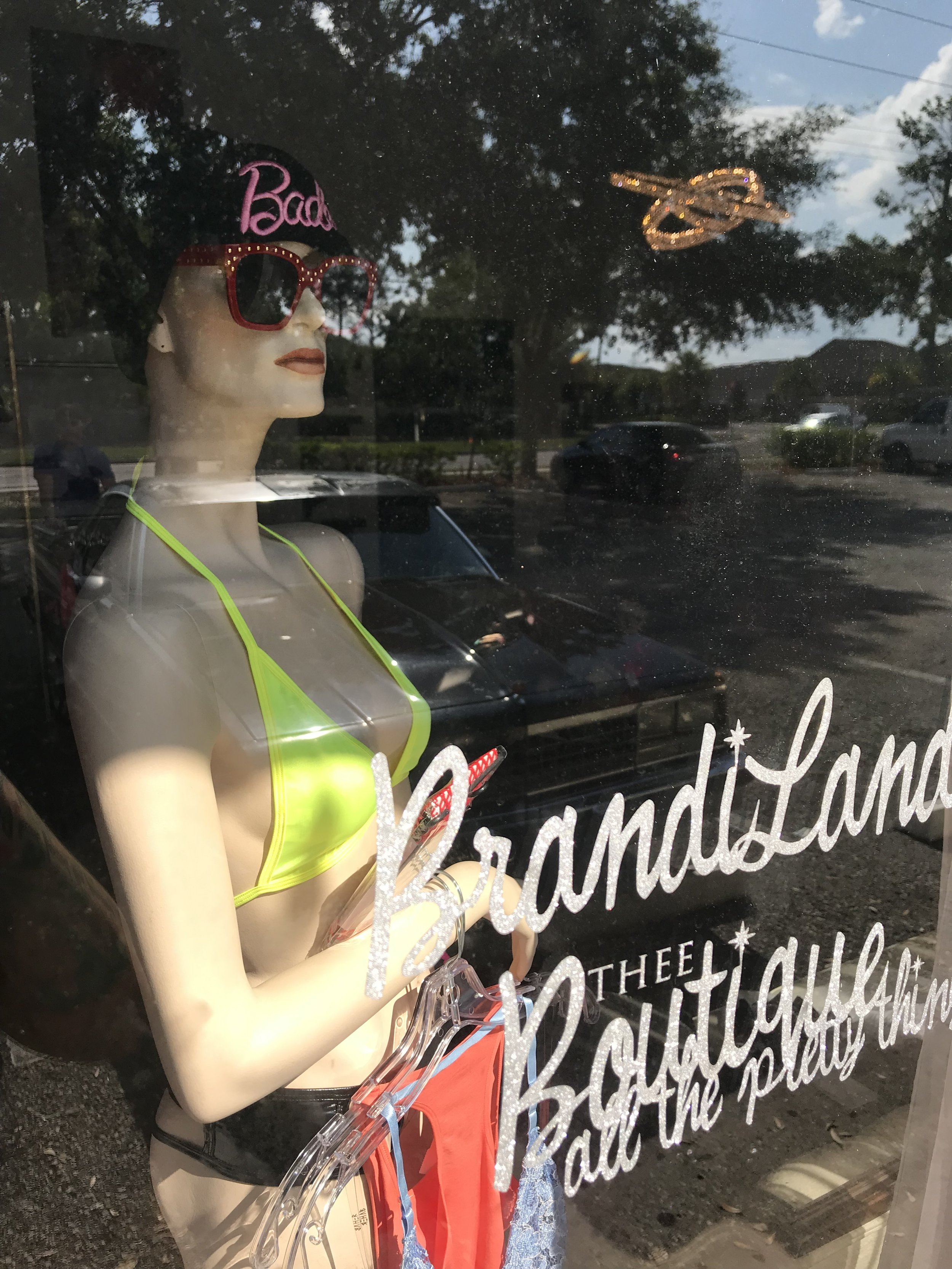 One of the BrandiLand mannequins, Joyce.