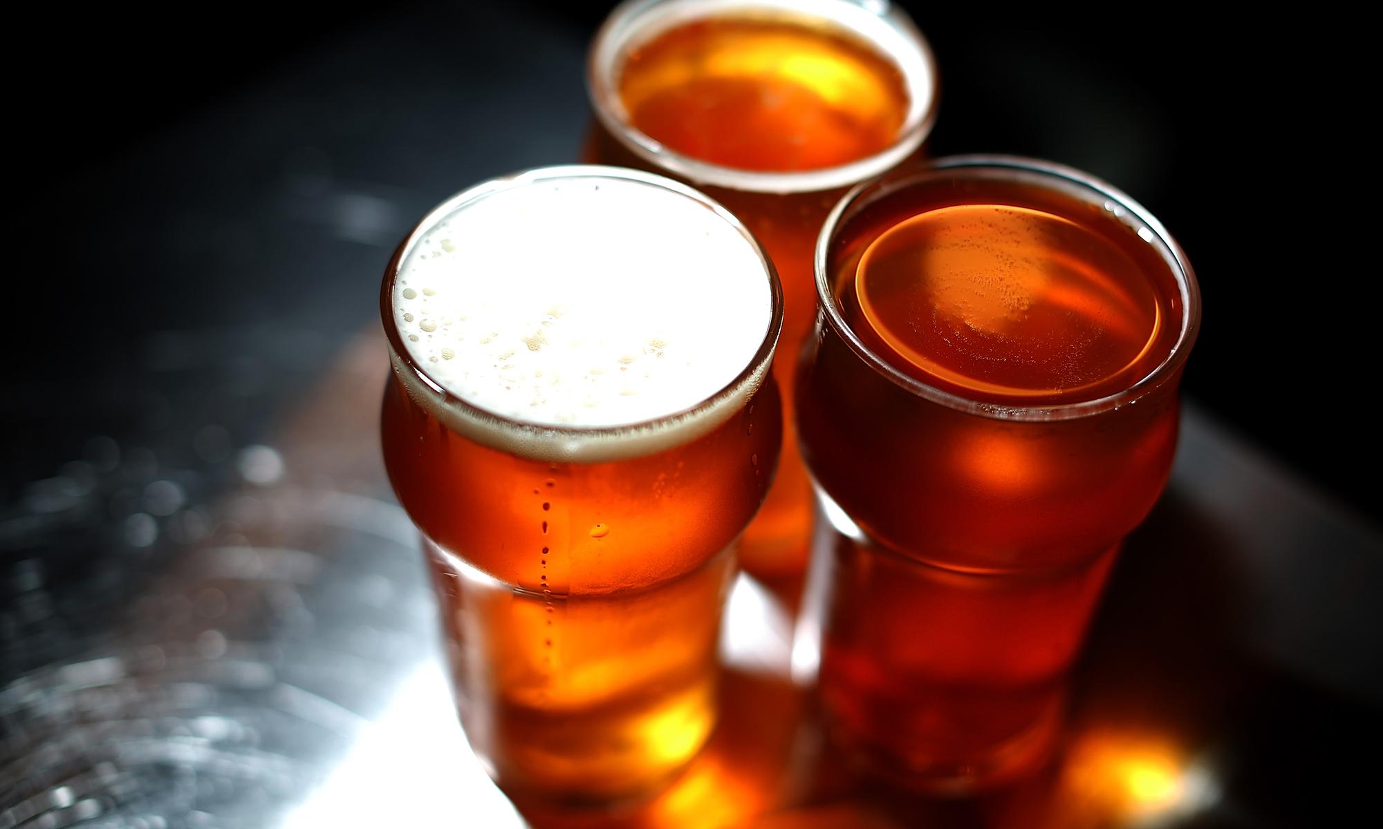 New Mexico State-Irish Pub Glass
