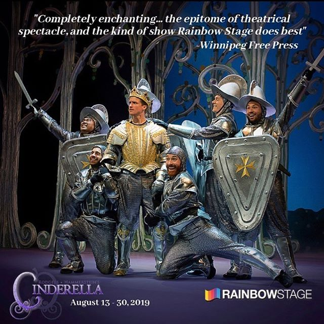 Congrats to BDC Co-Director @jsevillo on his successful run in Cinderella at Rainbow Stage!! 2 more shows !! Don't miss it! Get your tickets online or by calling!! #rainbowstage 👠💗🥂