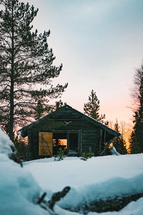 Cabin at sundown.jpg