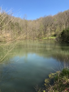 Two-acre lake is stocked with blue catfish