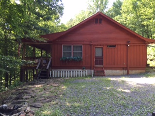Two bedroom, two bath, 1340 s.f. cozy cabin.