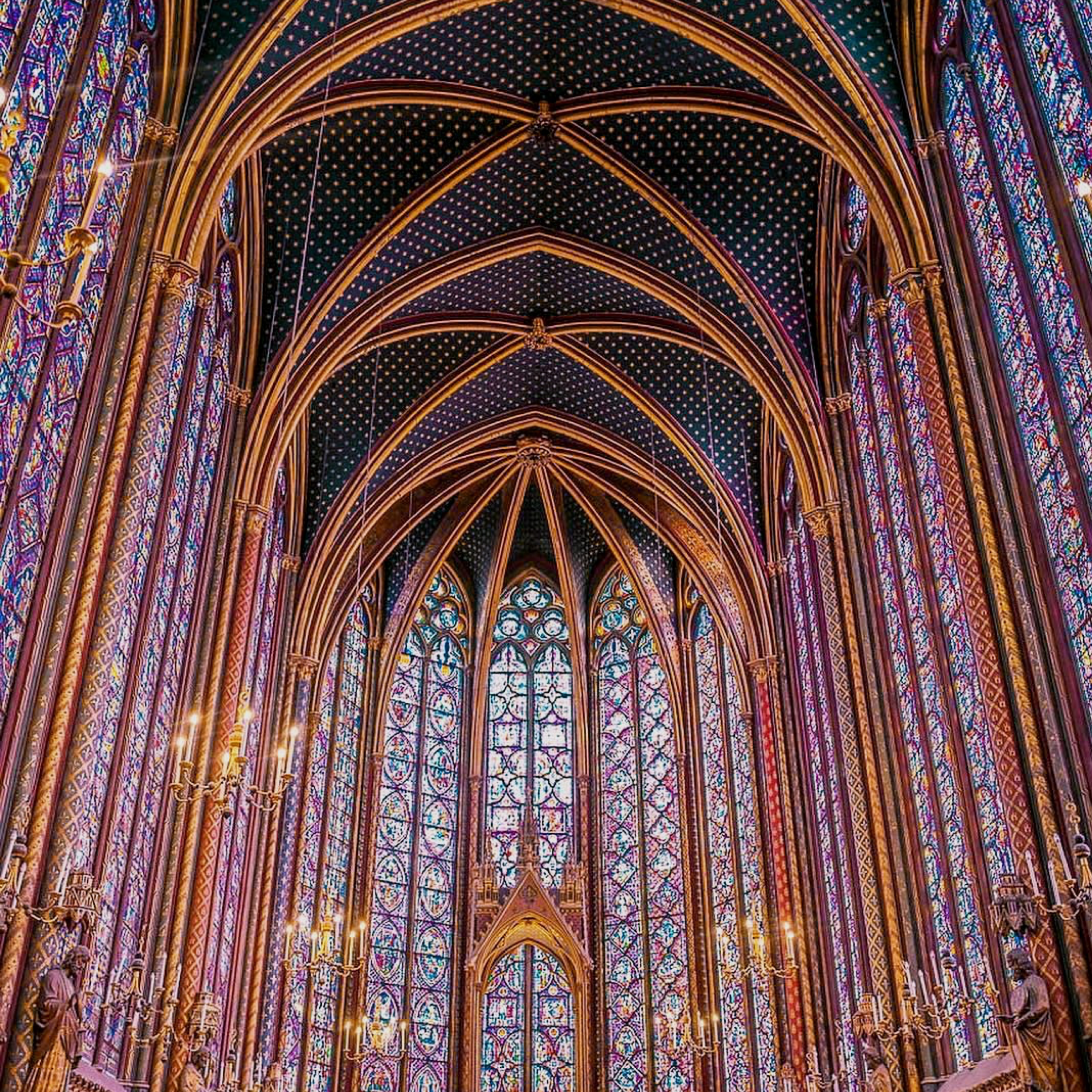 SAINTE-CHAPELLE - A true wonder of the world – join Bernard and Katharine as we explore the famous medieval chapel, feast on the sublime stained glass interior, and discover the Palais de la Cité, which has been at the heart of the French judicial system since the Roman era.Duration: 30 minutesDistance: 0.5 kmOpening hours: 9.30am – 18.00pmEntrance: 10€