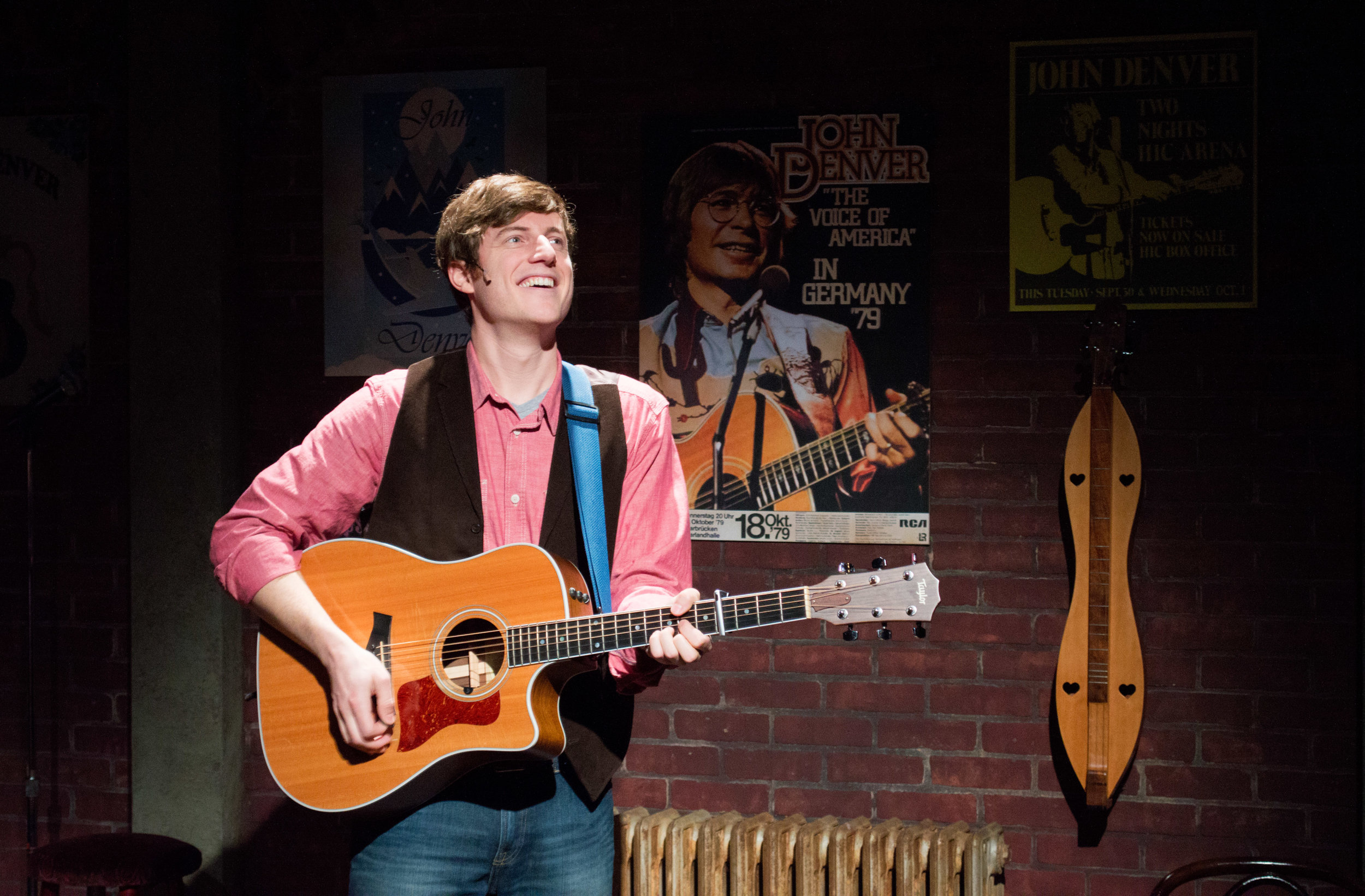 The Road: My Life With John Denver - December 2016 - January 2017Sam performed in this two person show featuring the music of John Denver at The People's Light and Theatre Companyphoto by Tori Harvey