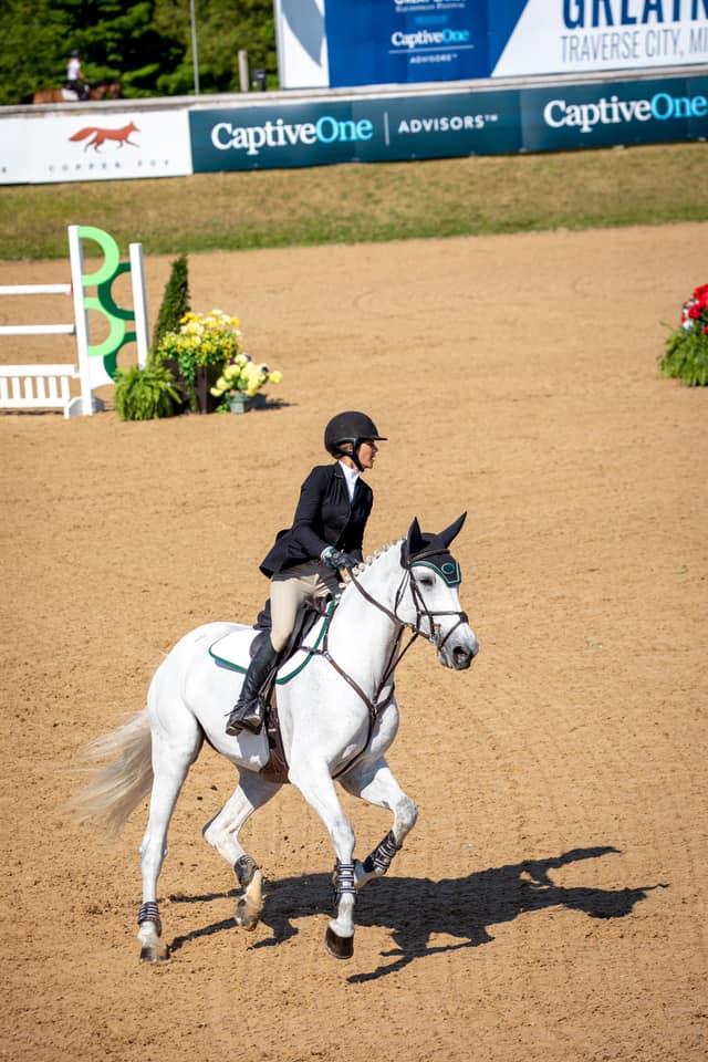 Teddi Pritzker. Photo by     Fine Art Horses