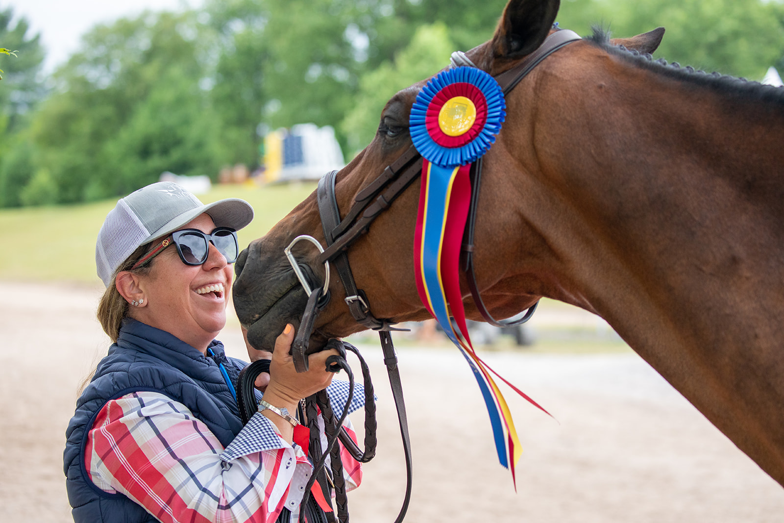 Michelle Durpetti and Cassius. Photo by    Fine Art Horses