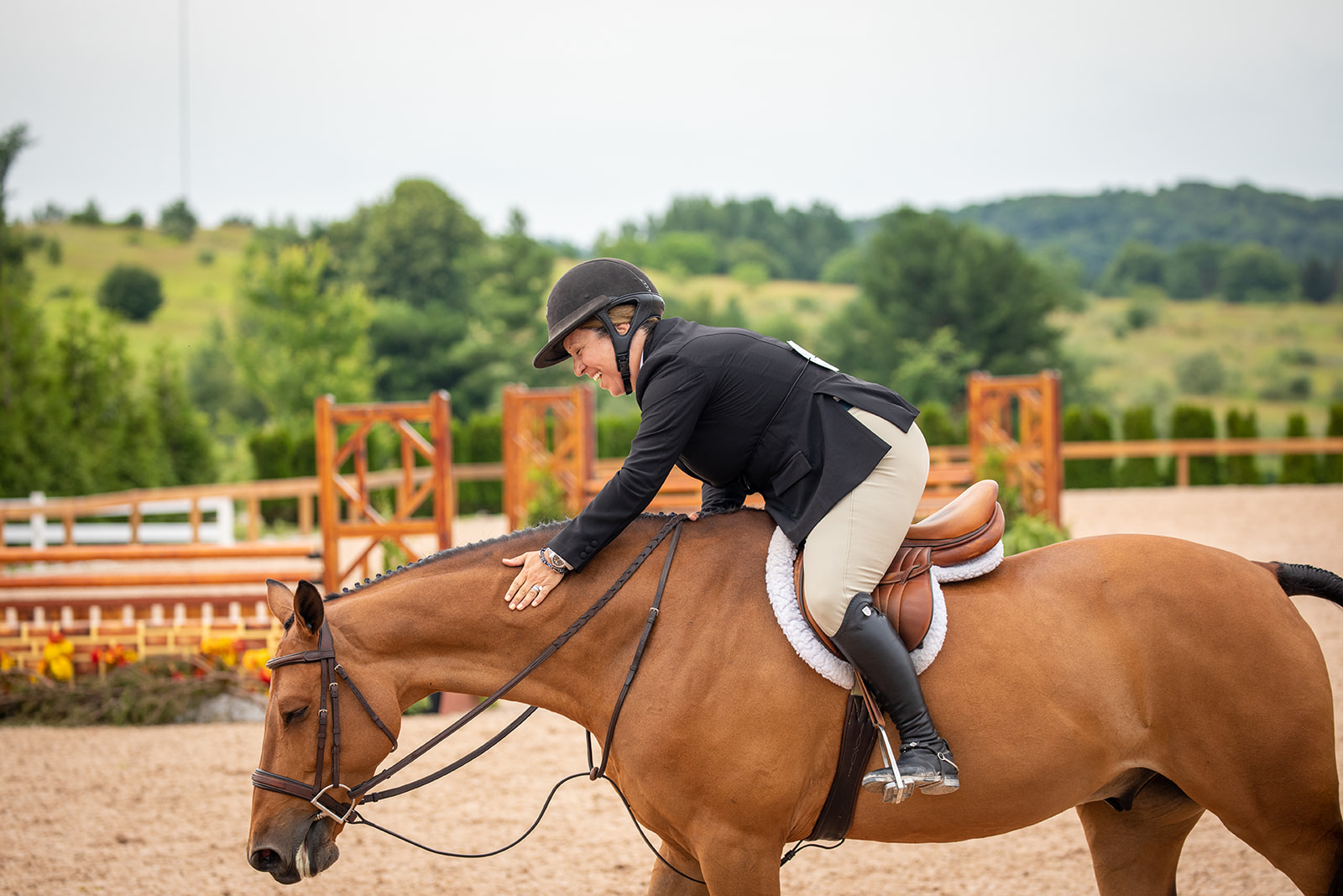 Michelle Durpetti and Lucca. Photos by    Fine Art Horses