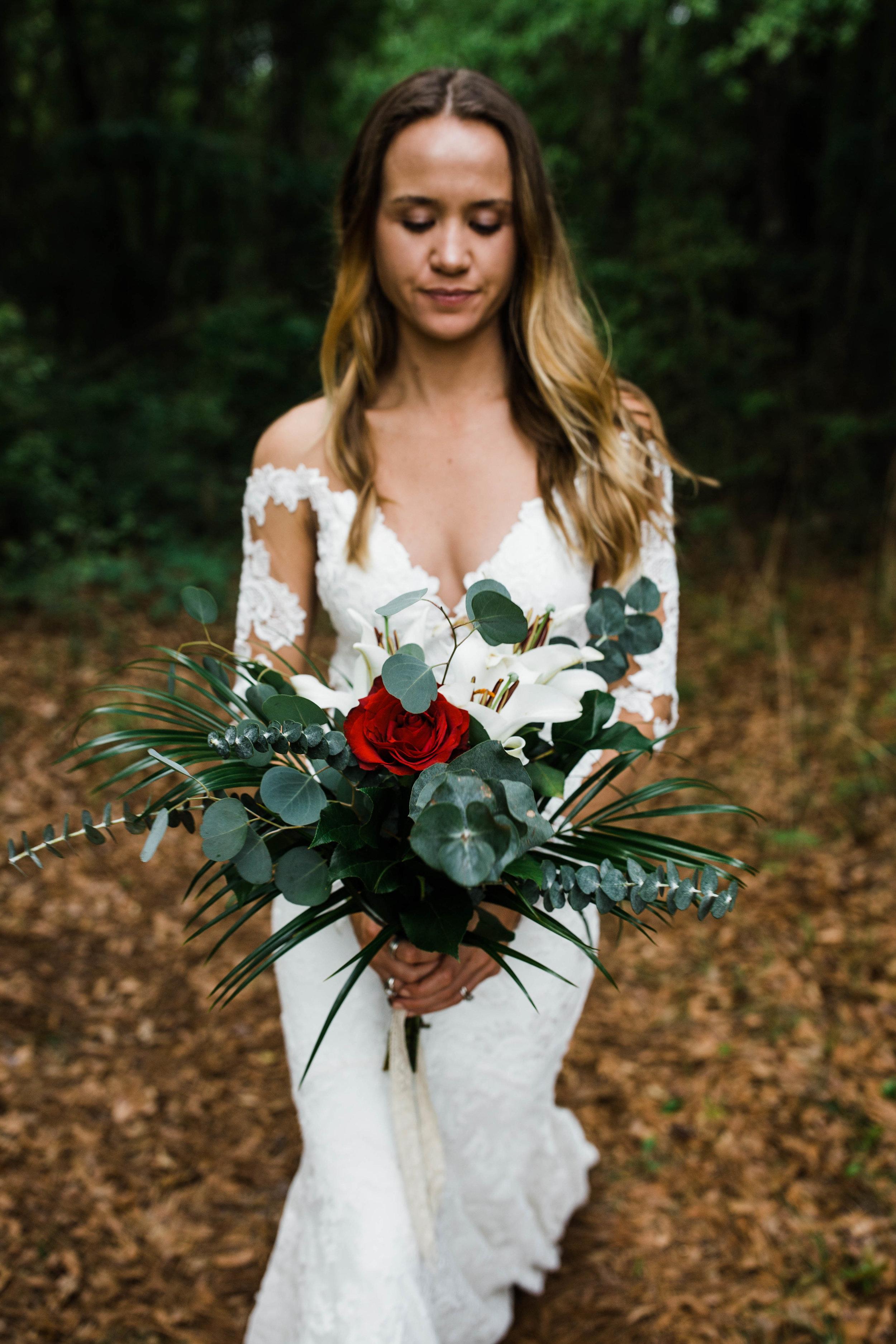 Slot canyon elopement inspiration shoot