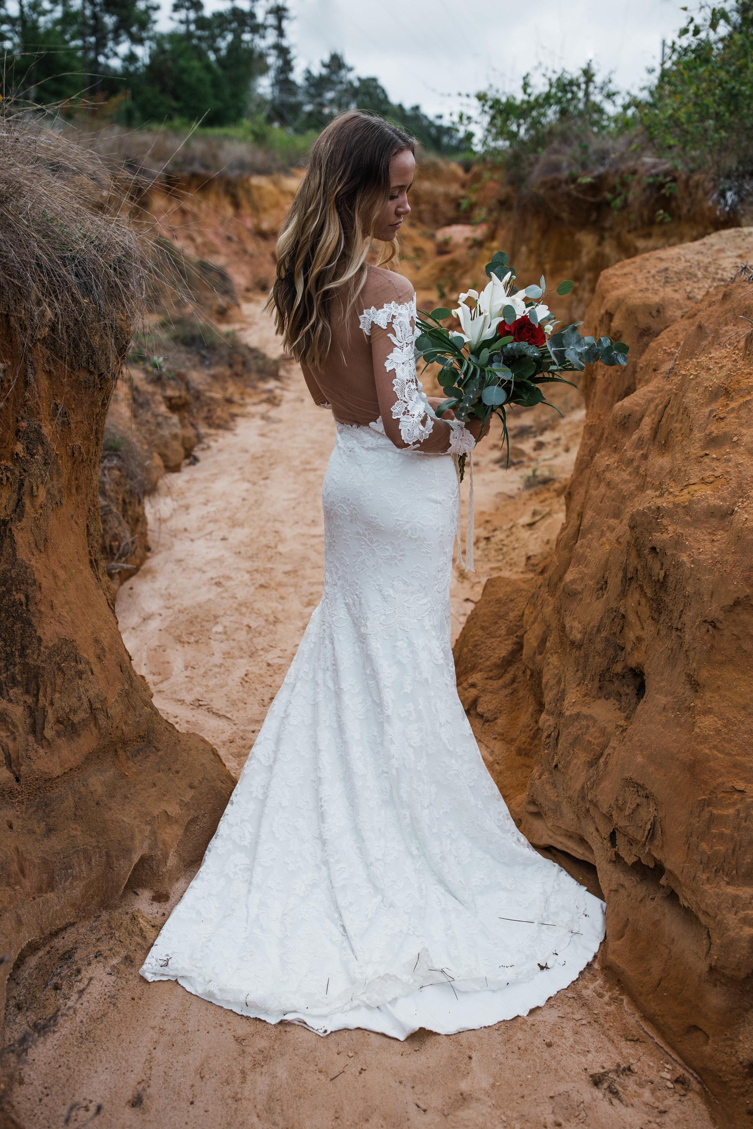 Pensacola, Florida Slot Canyon elopement inspration shoot