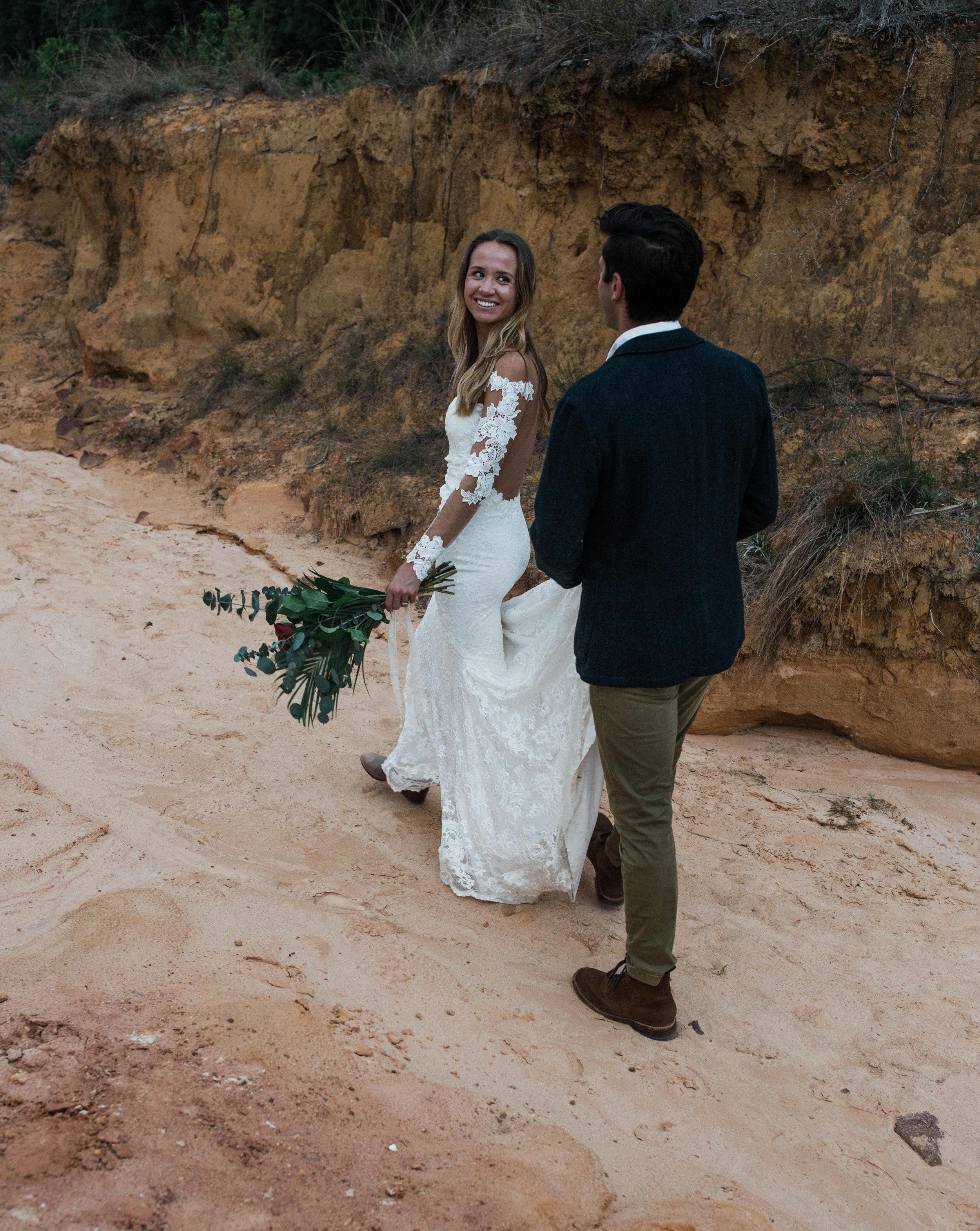 Page Arizona desert elopement inspiration shoot